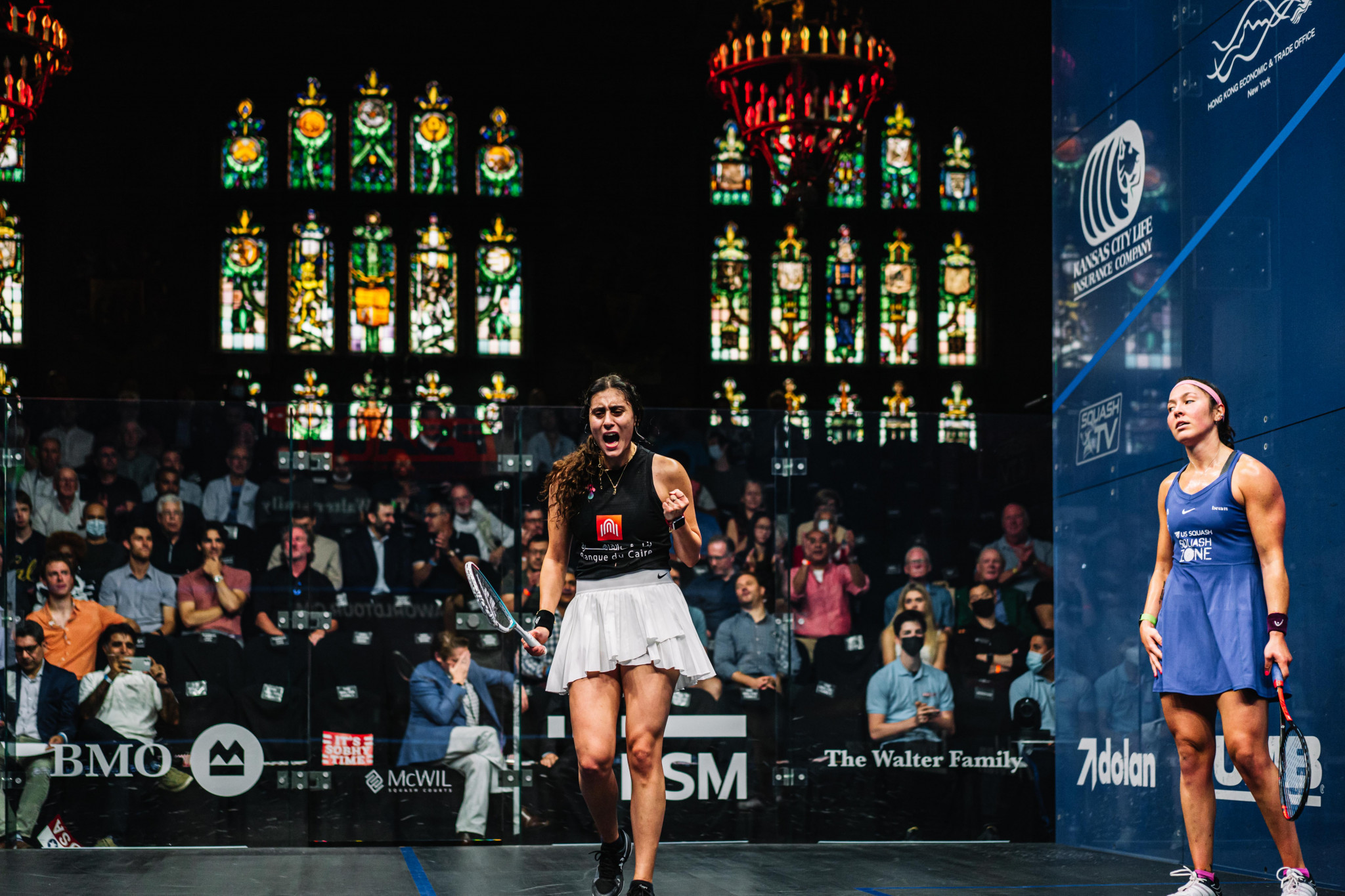 Nour El Sherbini made the World Championship final for the sixth time in a row ©PSA