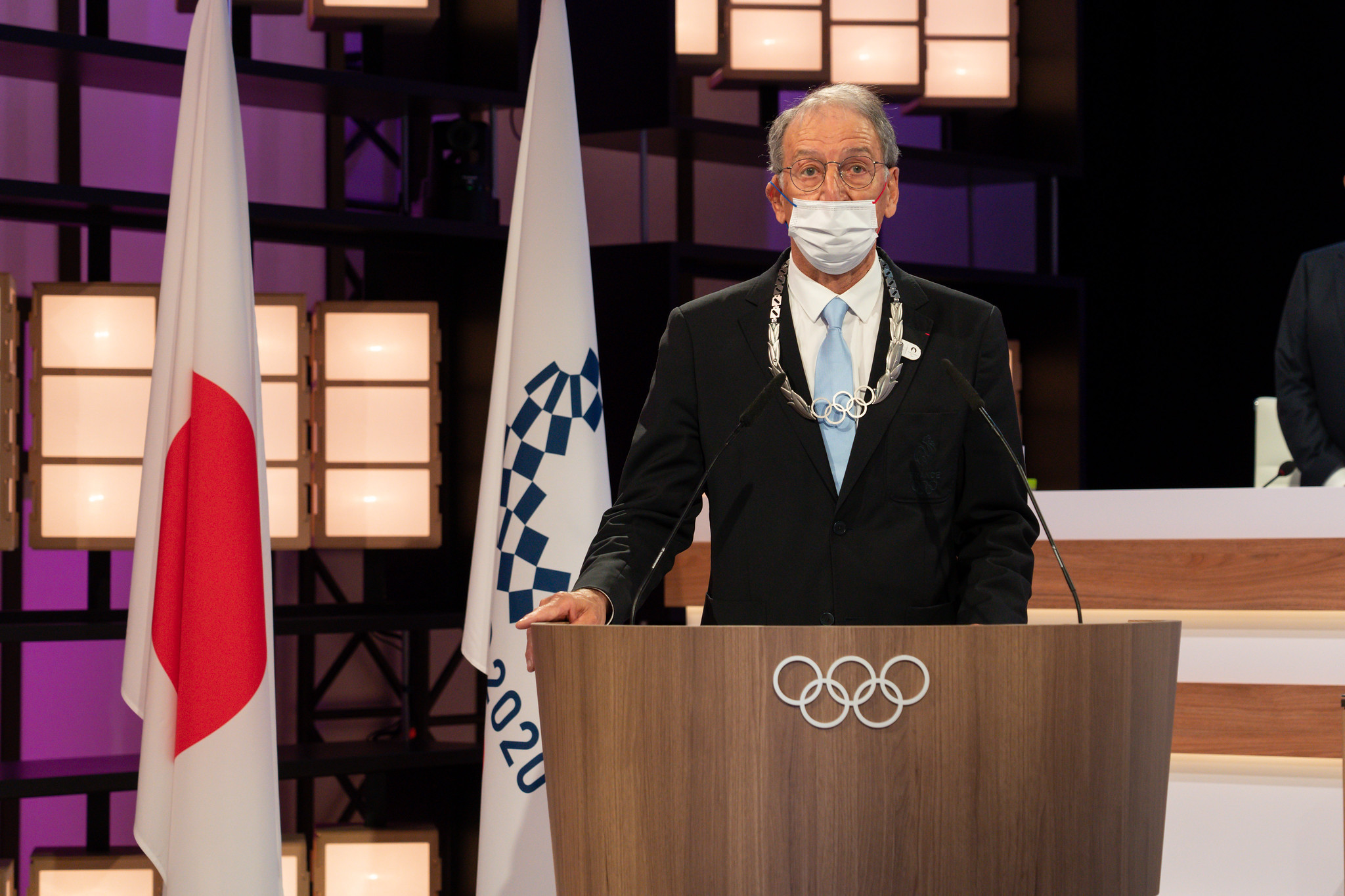 Denis Masseglia has been awarded the Olympic Order ©IOC