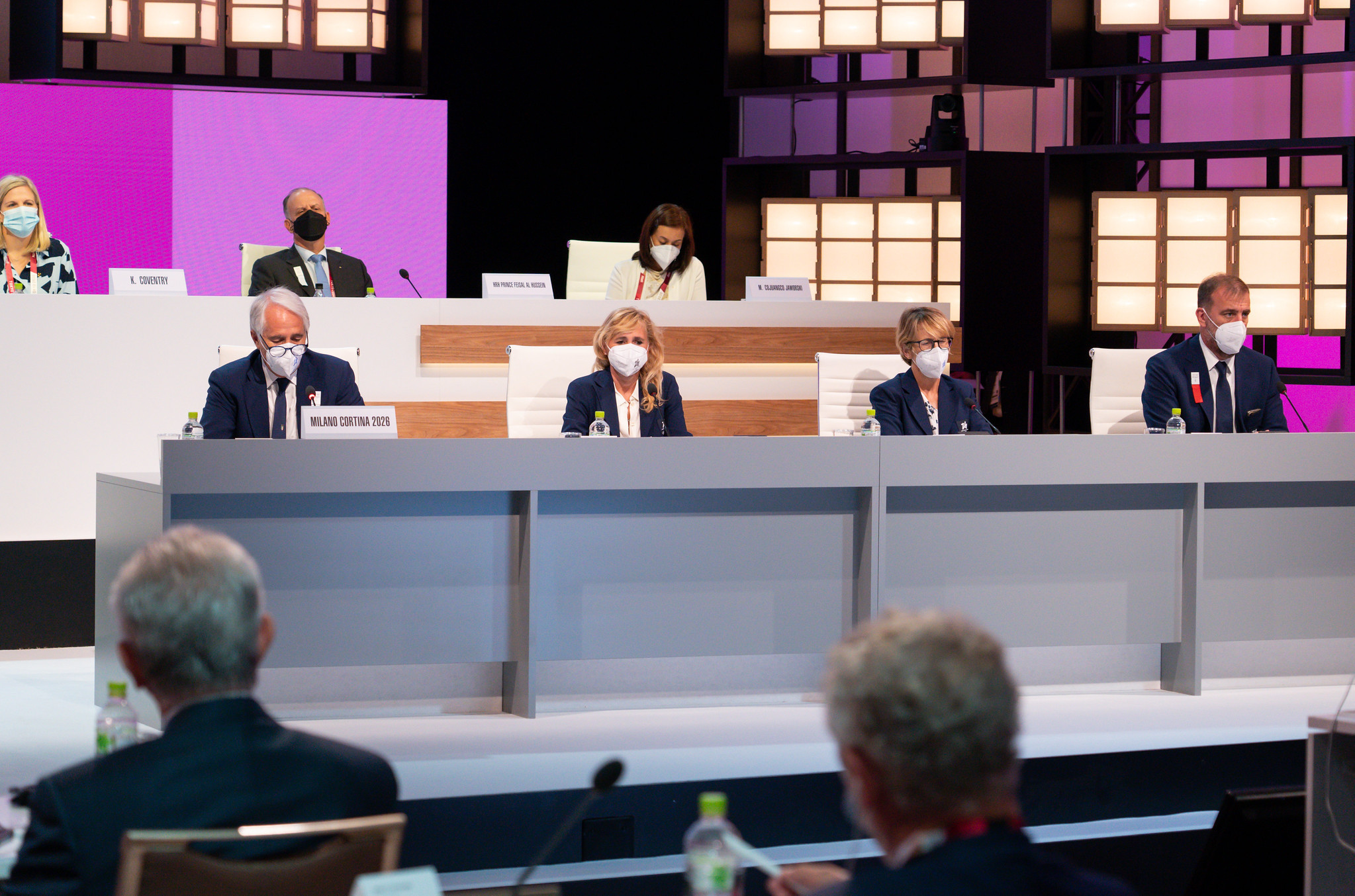 Milan Cortina 2026 said the organisation is experiencing growth and highlighted engagement after its logo selection ©IOC