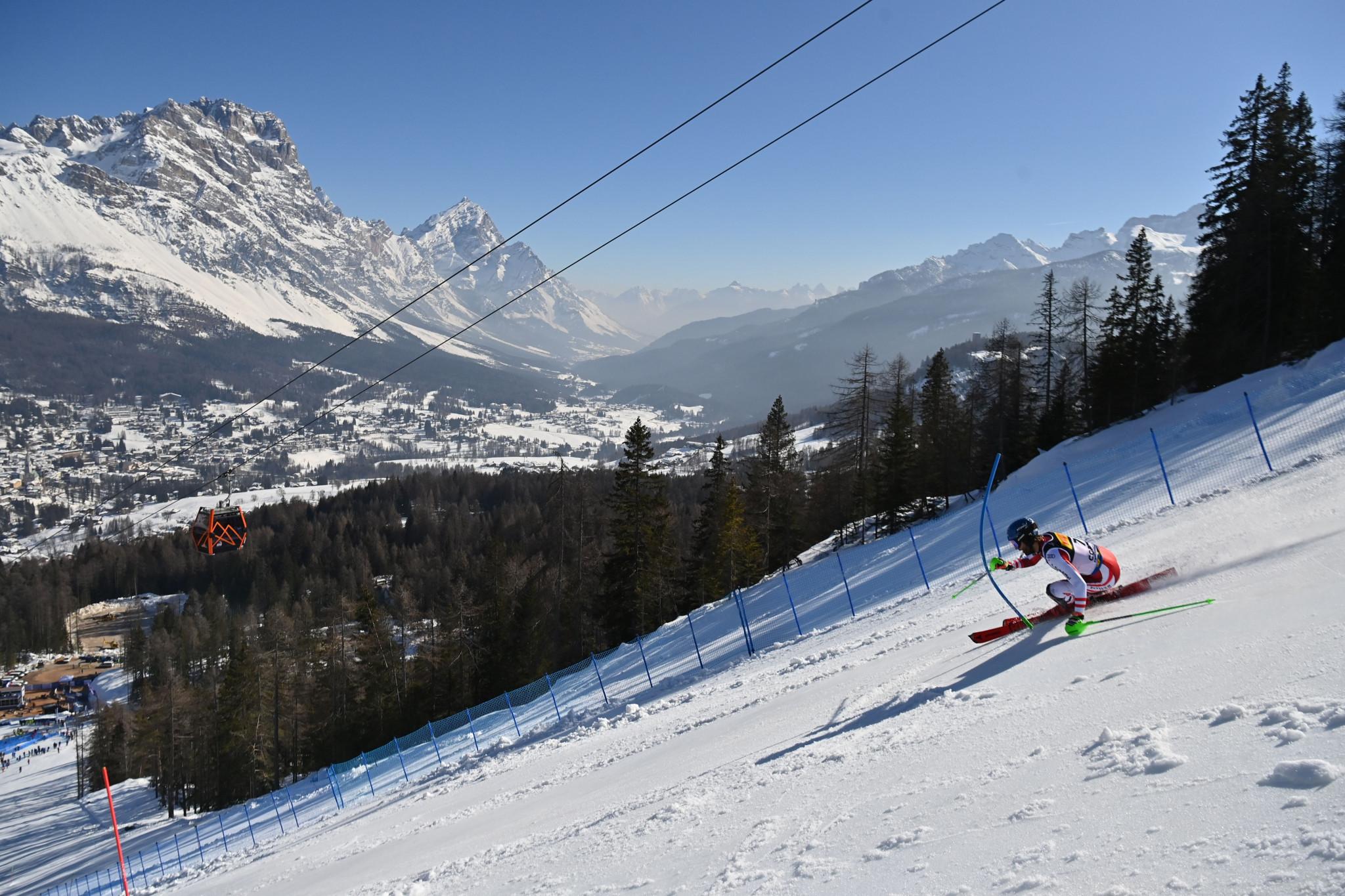 Cortina held this year's World Alpine Skiing Championships ©Getty Images