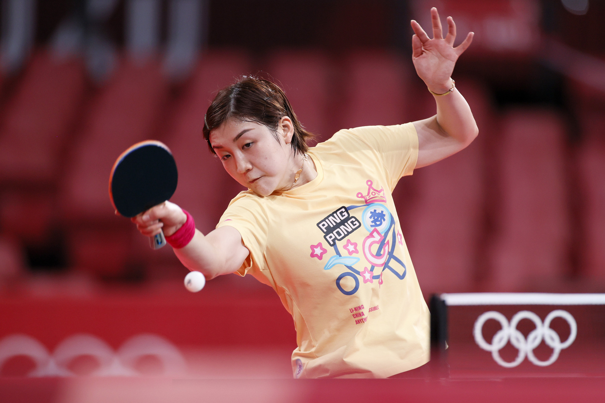 Chen Meng is the top seed in the women's tournament ©Getty Images