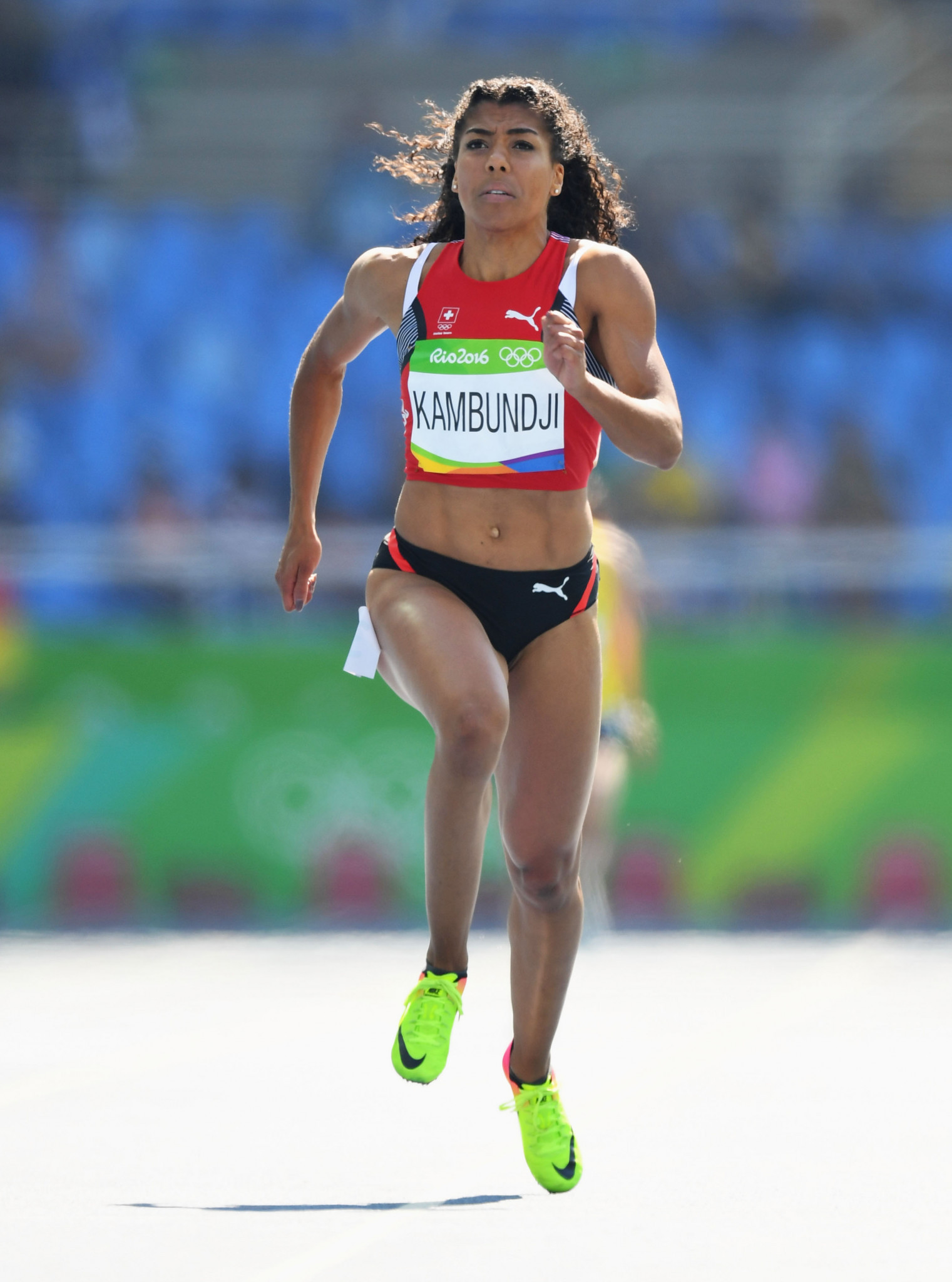 Mujinga Kambundji has been named as one of two Switzerland flagbearers for the Tokyo 2020 Opening Ceremony ©Getty Images