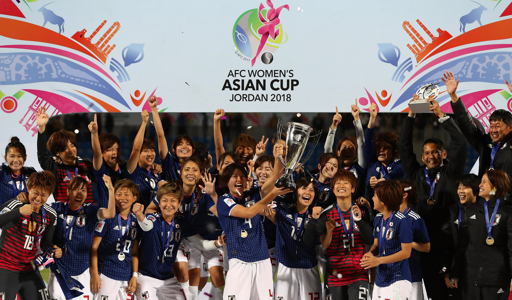 Japan have beaten Australia 1-0 in the last two finals of the Women's Asian Cup ©Getty Images