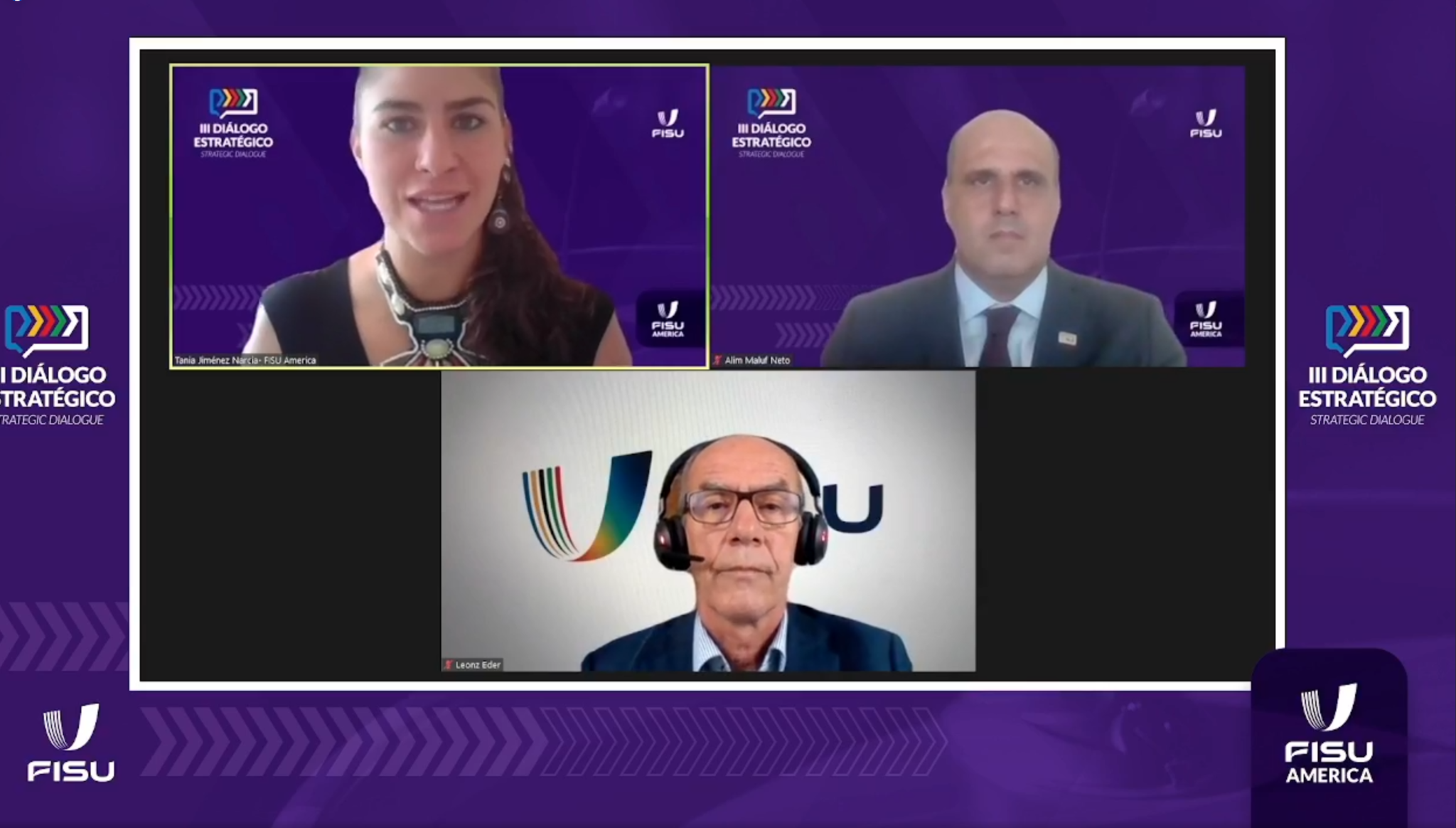FISU America holds third strategic dialogue meeting with two-day webinar