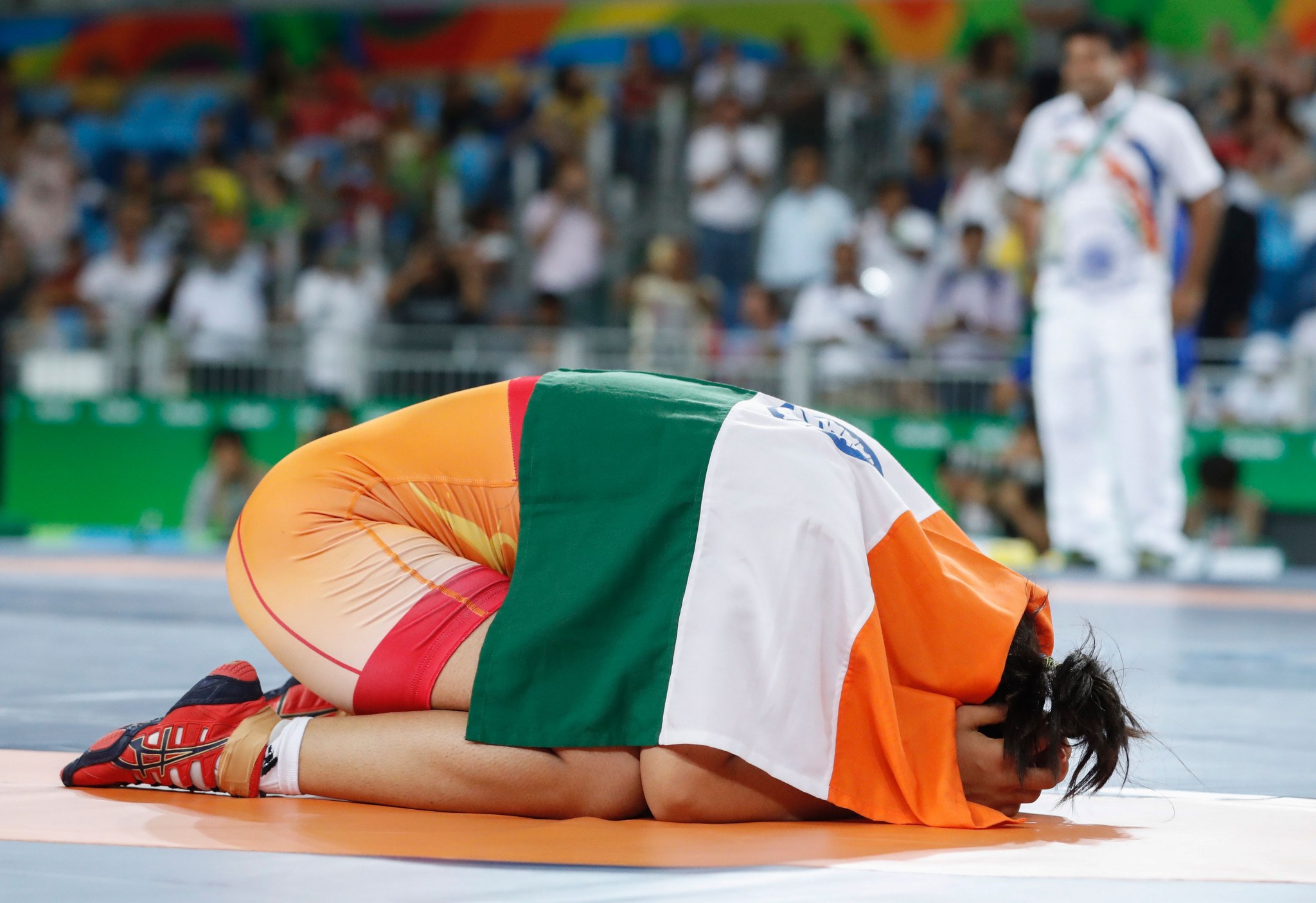 Indian gold rush continues as girls' finals begin at World Cadet Wrestling Championships