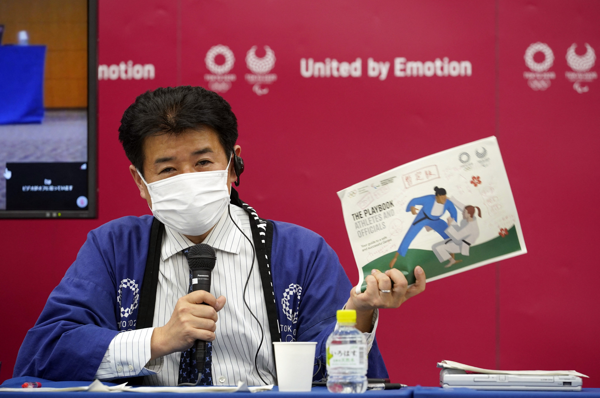 Hidemasa Nakamura, Games delivery officer for Tokyo 2020, claims the COVID-19 countermeasures are