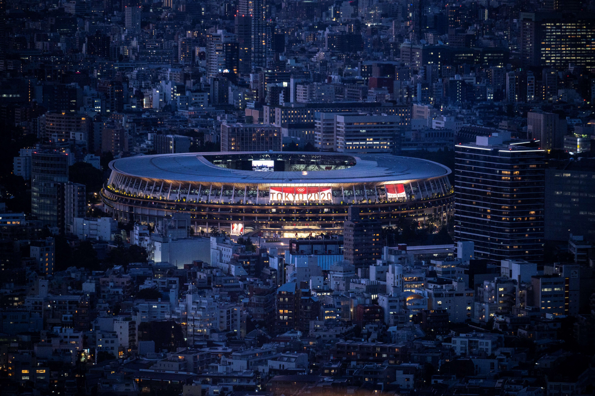 Japan's National Stadium is set to stage the Opening Ceremony of the Olympics ©Getty Images