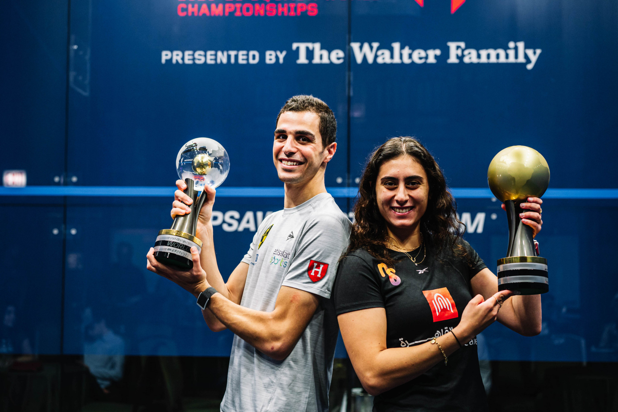 Farag and El Sherbini claim titles at PSA World Championships in Chicago