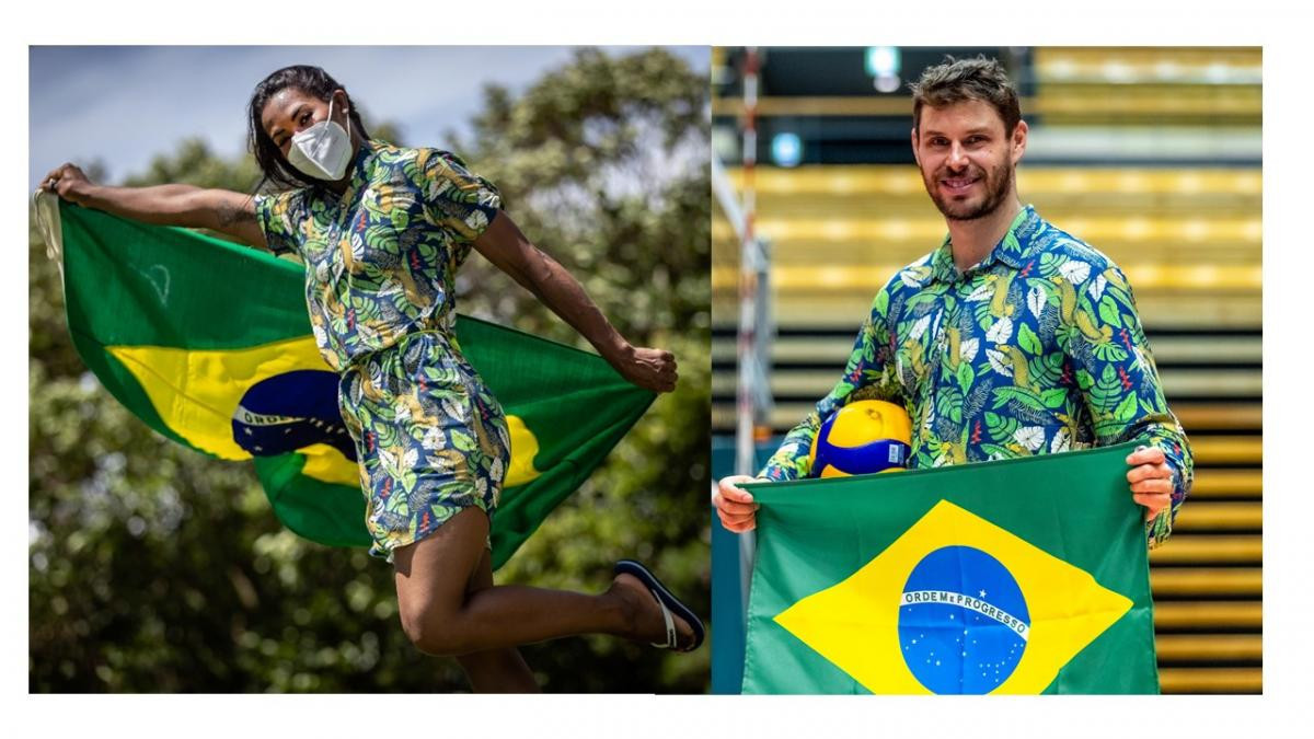 Brazilian flag bearers to be country's sole athlete representatives at Tokyo 2020 Opening Ceremony
