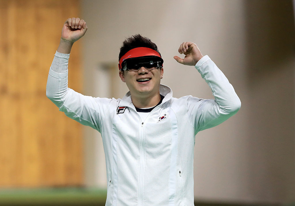 Jin Jong-oh of South Korea is targeting a record-extending fifth shooting medal at the Olympics ©Getty Images