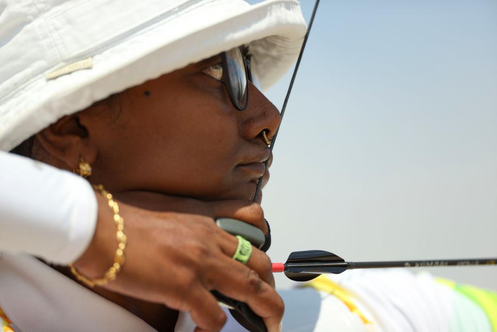 인도 세계의 디삐카 쿠마리는 올림픽에서 다시 여자 양궁을 지배하는 한국의 계획에 방해가 될지도 모릅니다 © GettyImages