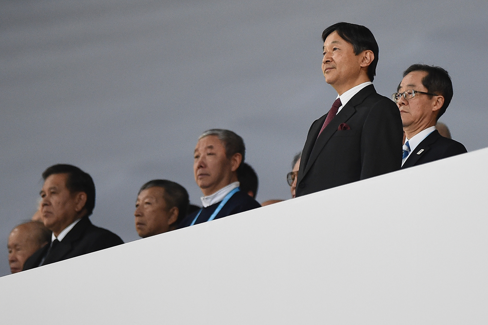 Emperor Naruhito was present to declare the delayed Olympic Games open ©Getty Images