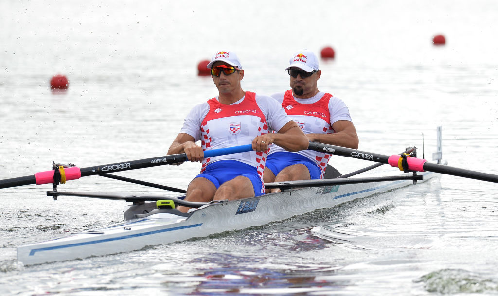 Croatia's Martin and Valent Sinkovic, double sculls gold medallists at the Rio 2016 Games, are among the strongest of favourites in Tokyo as they contest the men's pair ©Getty Images