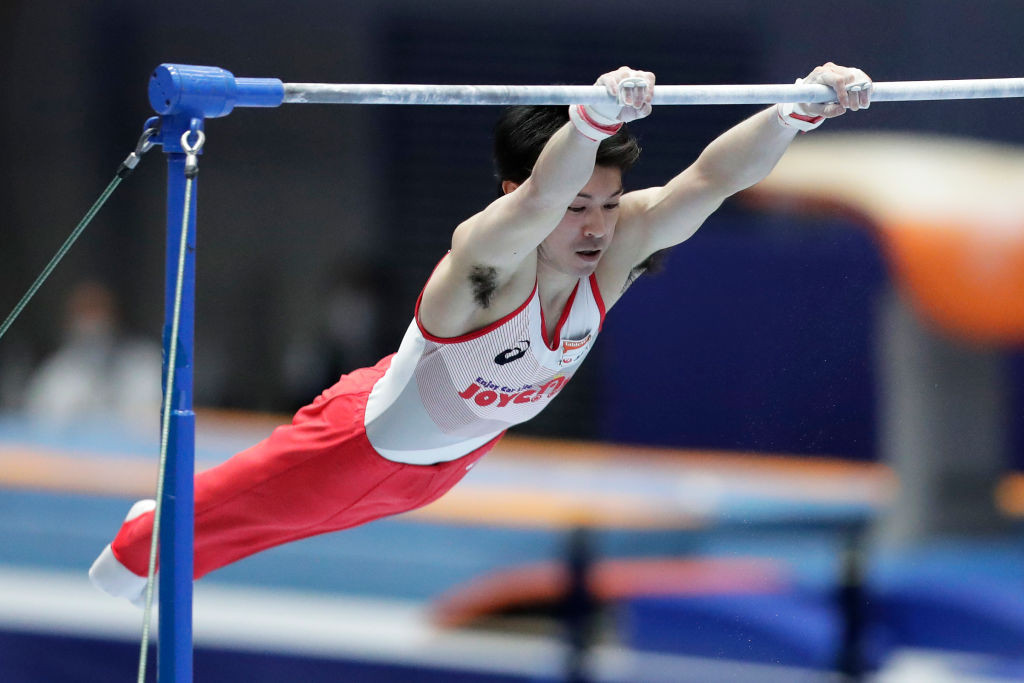 Japan's all-around champion from Rio 2016, Kohei Uchimura, will compete only on the horizontal bar at the Tokyo 2020 Olympics ©Getty Images
