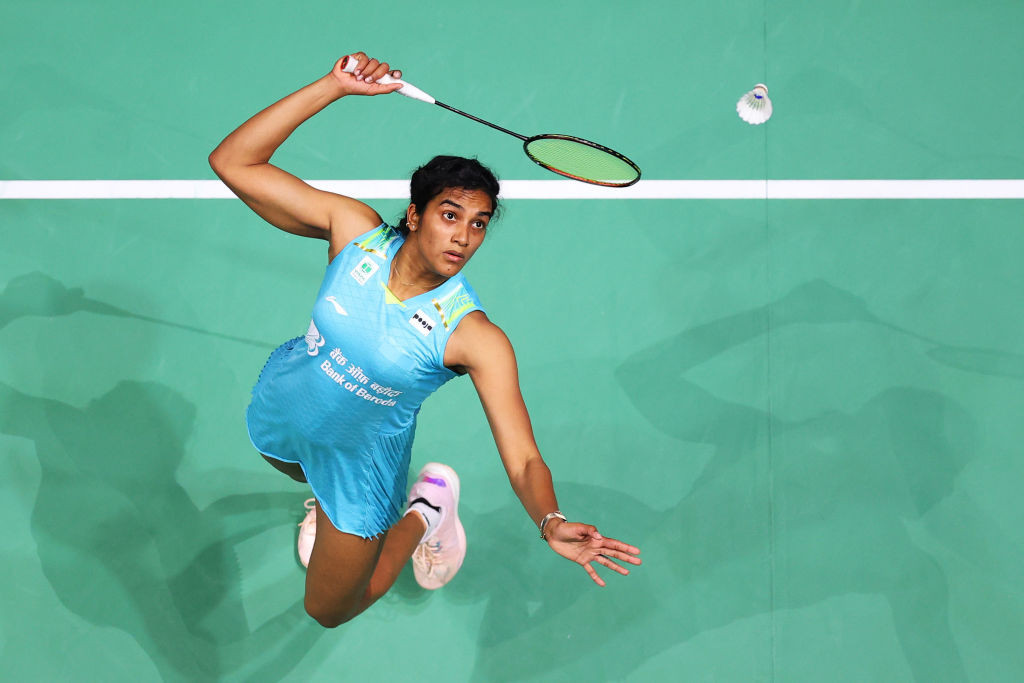 India's PV Sindhu will seek to add the Olympic title to her world gold in the badminton women's singles competition that starts tomorrow ©Getty Images