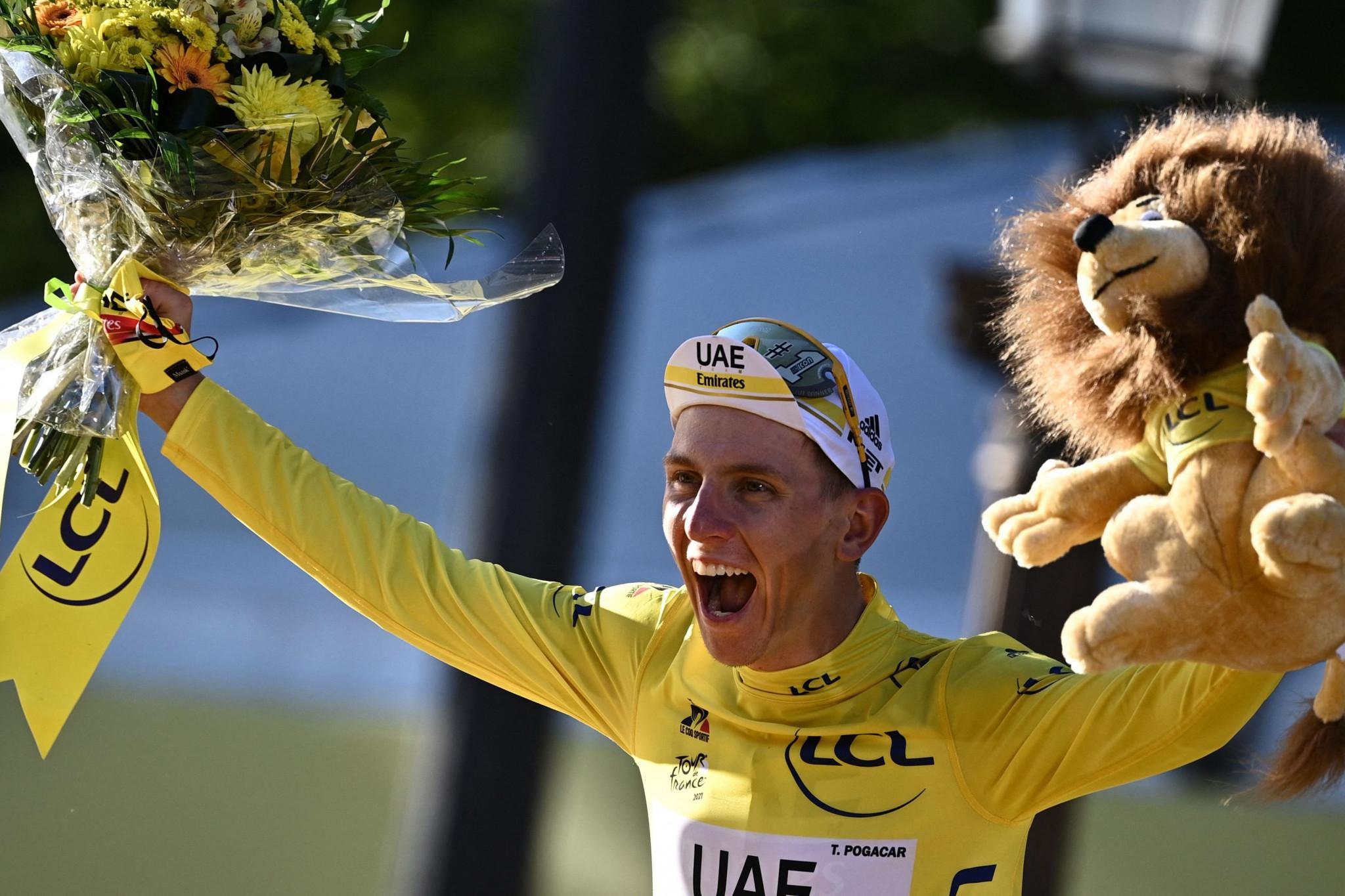 Tour de France champion Pogačar among starters at Tokyo 2020 men's road race