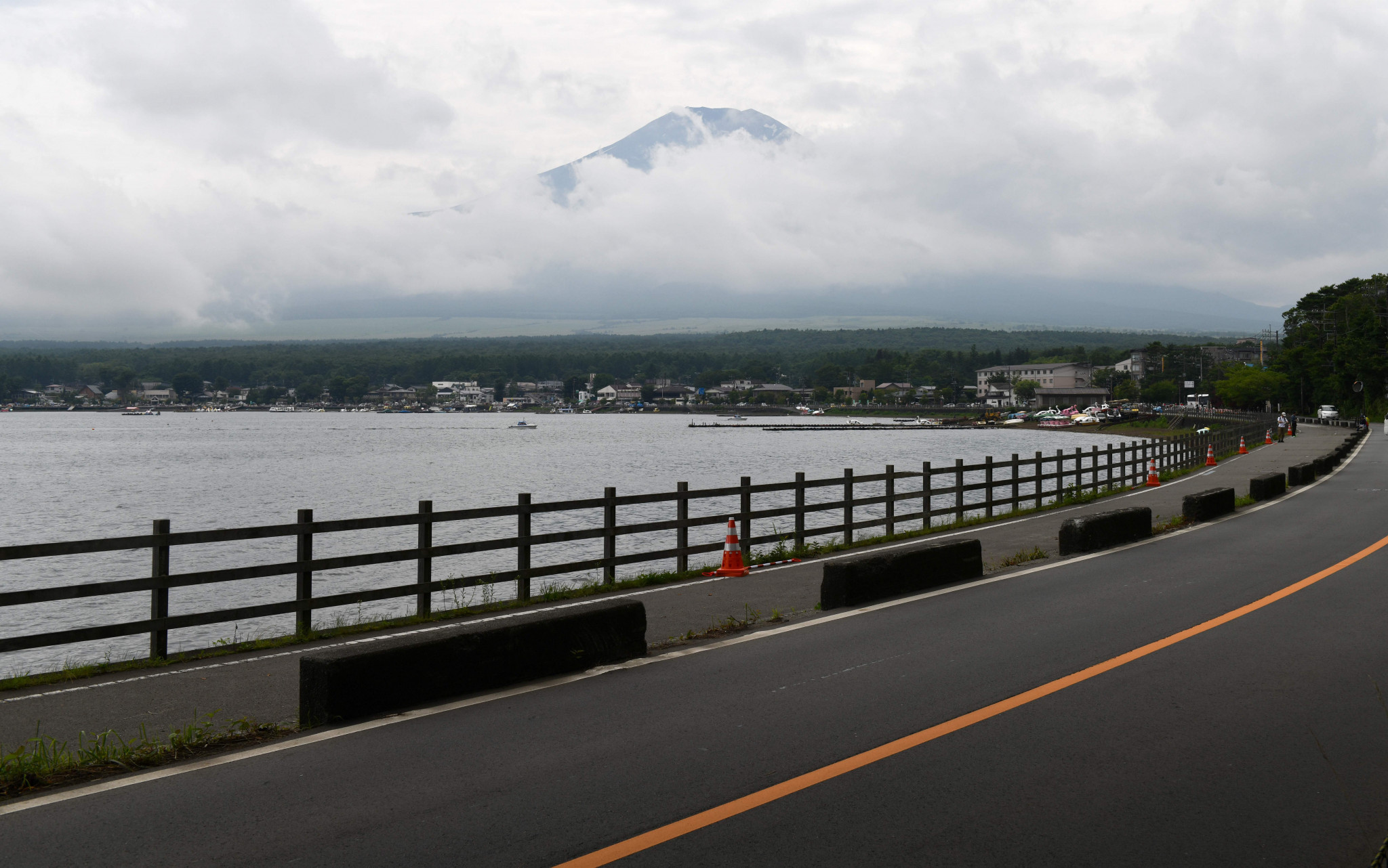 Mount Fuji awaits in the men's Olympic road race ©Getty Images