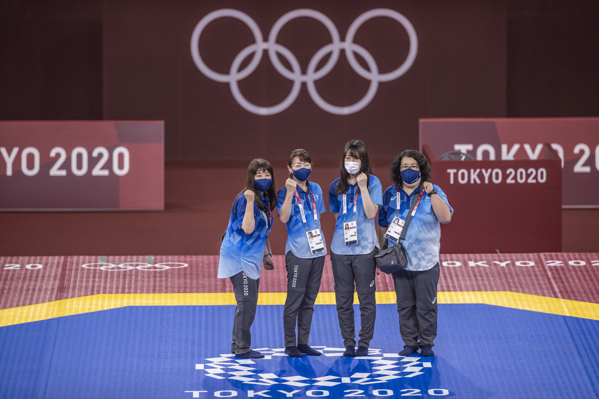 Taekwondo competition will take place at the Makuhari Messe Hall ©Getty Images