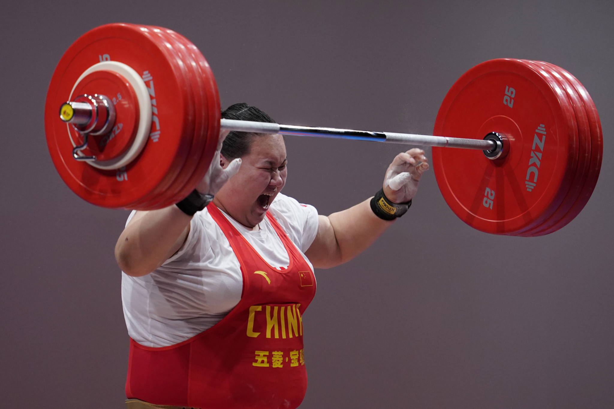 China will be hoping to better its tally of five weightlifting medals - the number it has won at every Games this century - with Li Wenwen a strong contender for the nation ©Getty Images