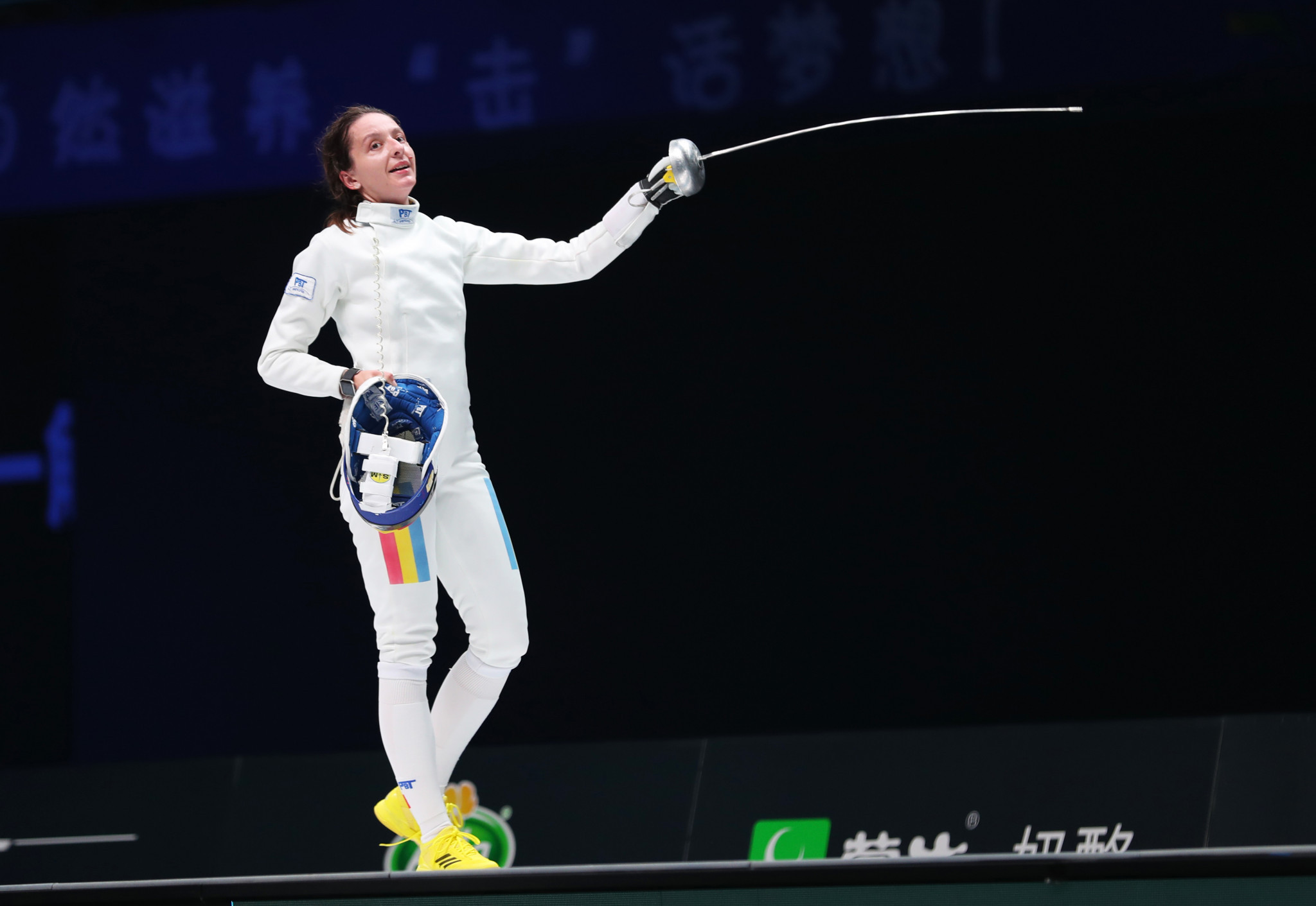 Ana Maria Popescu of Romania will be looking to defend her Olympic title in the women's individual epee ©Getty Images