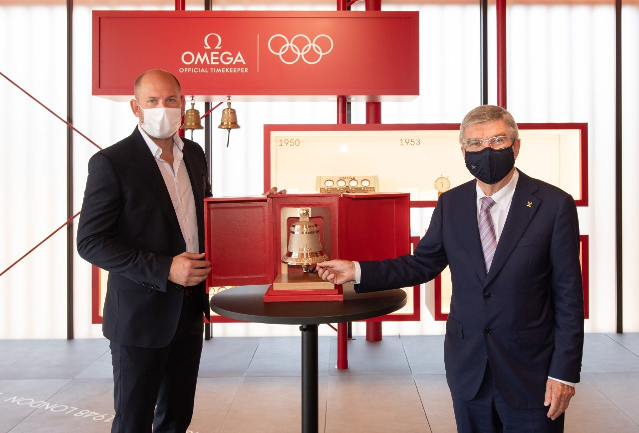 Bach praises Omega as it clocks up a 29th Olympic Games