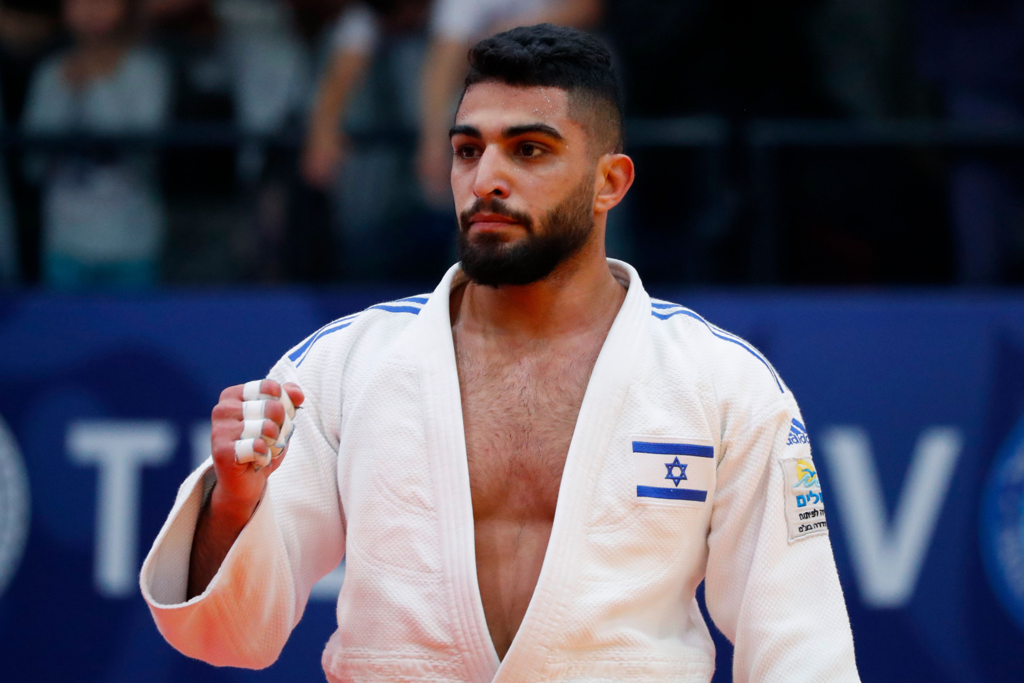 Fethi Nourine could have faced Tohar Butbul of Israel in the second round ©Getty Images