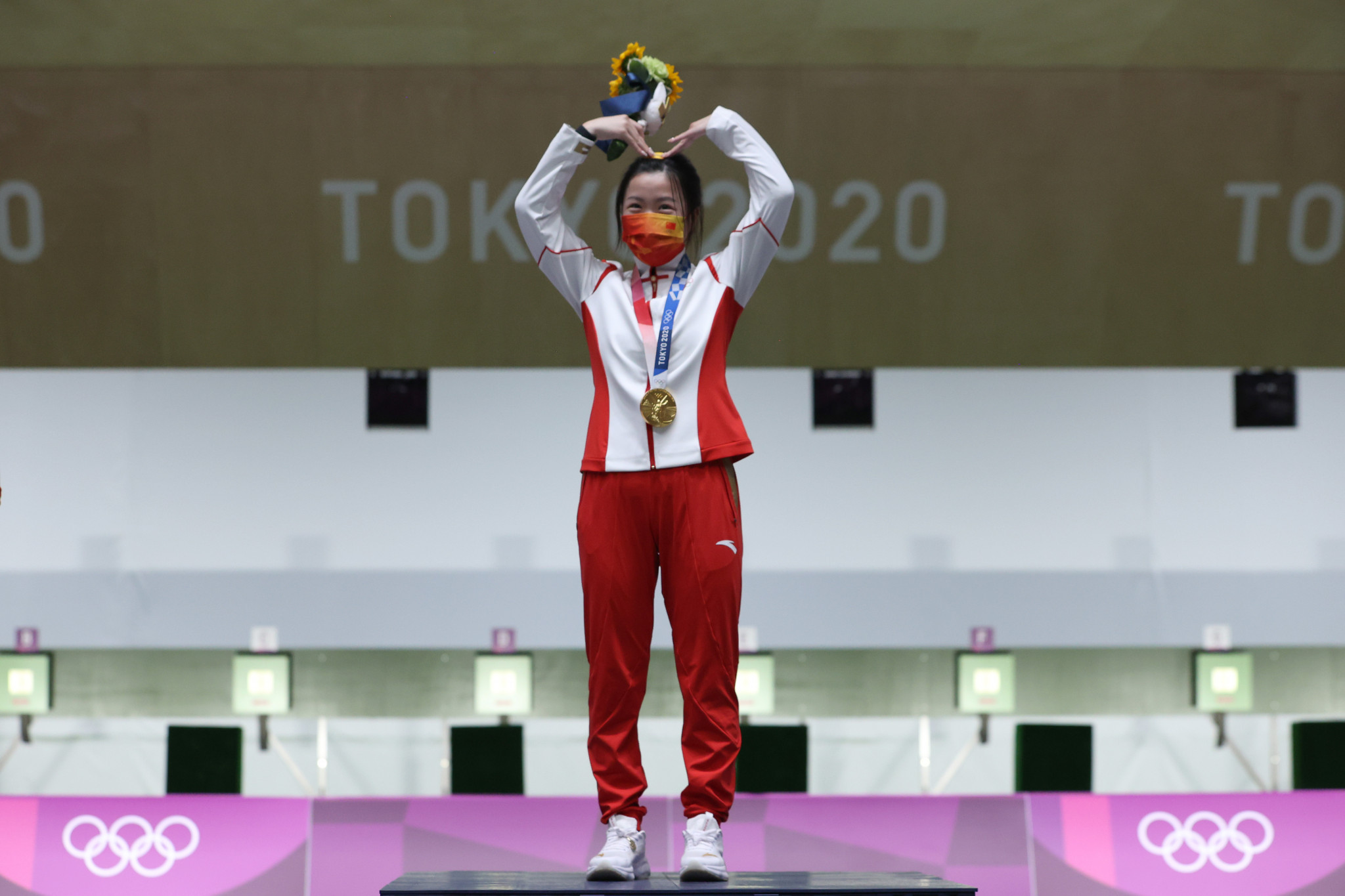 Chinese shooter Yang wins first gold medal of delayed Tokyo 2020 Olympics