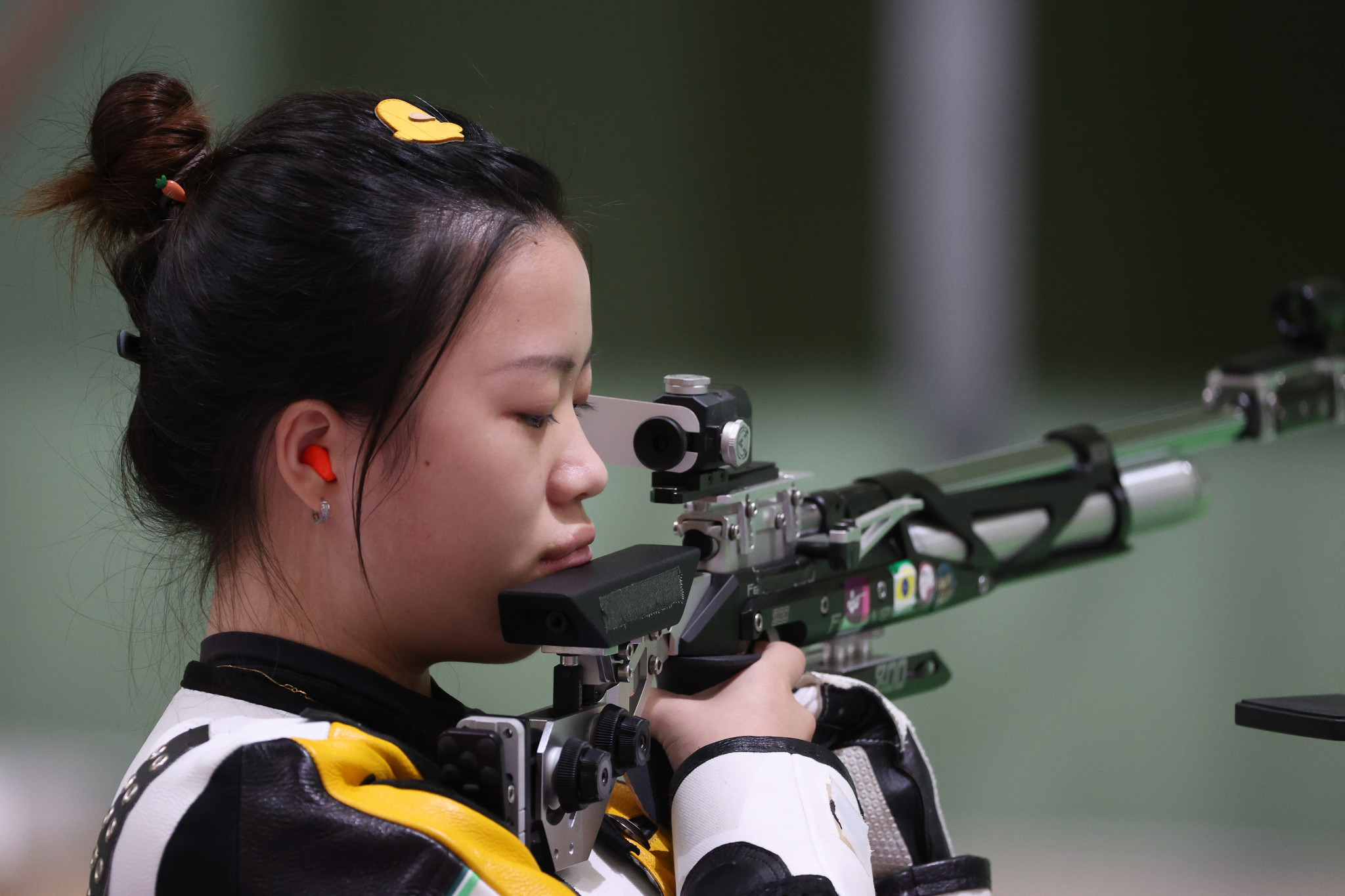 Qian Yang triumphed after final shot drama  ©Getty Images