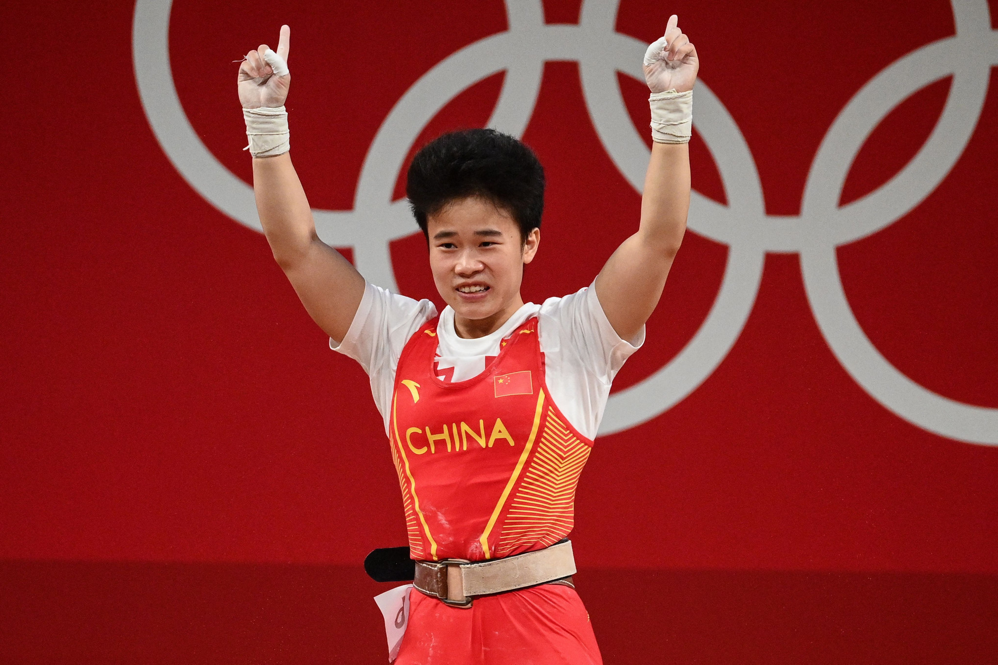 Gold for China and disappointment for United States in first weightlifting event of Tokyo 2020