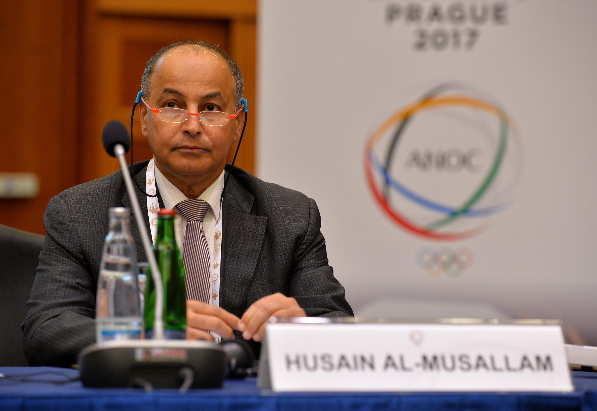 International Swimming Federation (FINA) President Al-Musallam started his tenure in June 2021 ©Getty Images