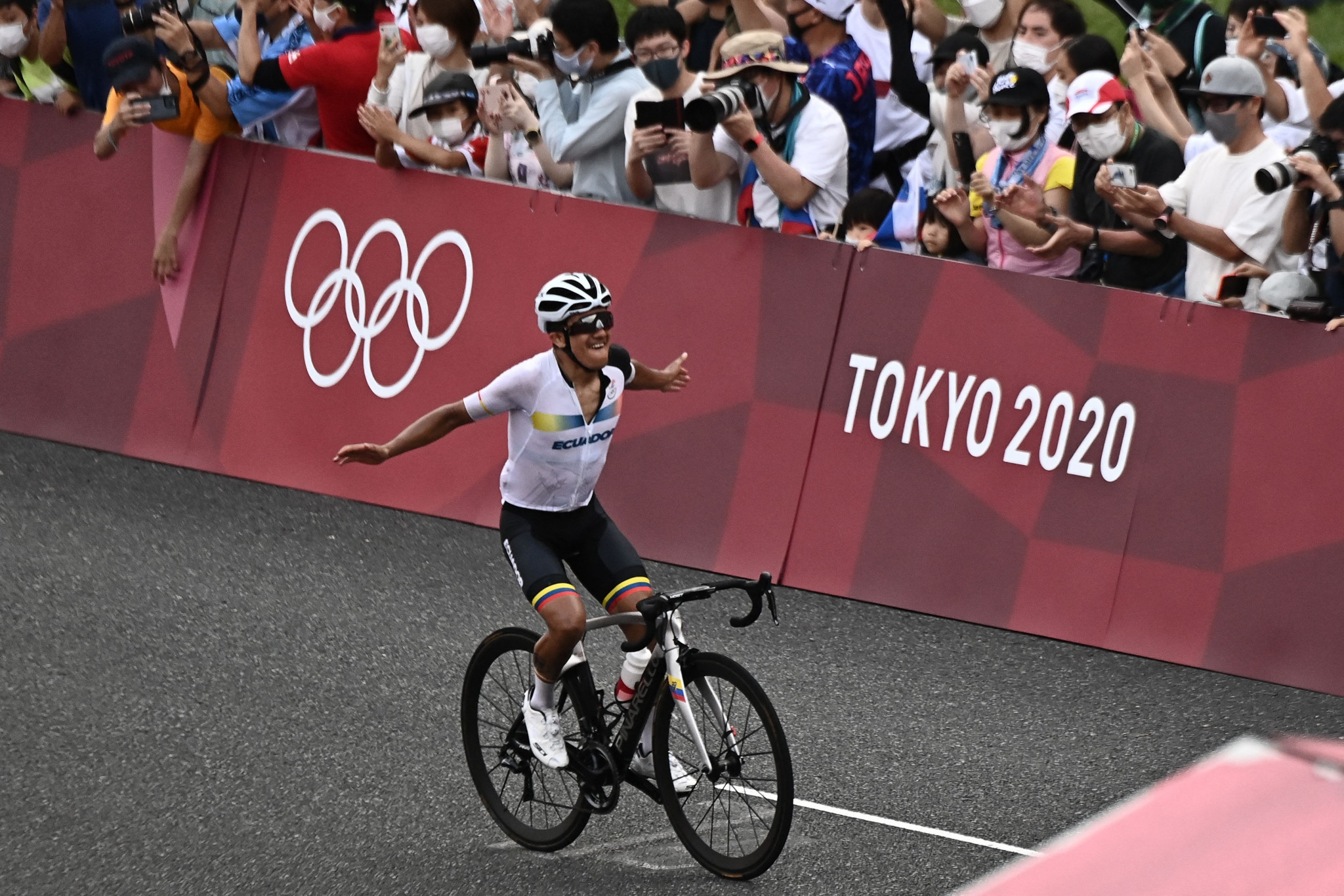 Carapaz becomes Ecuador's second Olympic champion with men's road race success