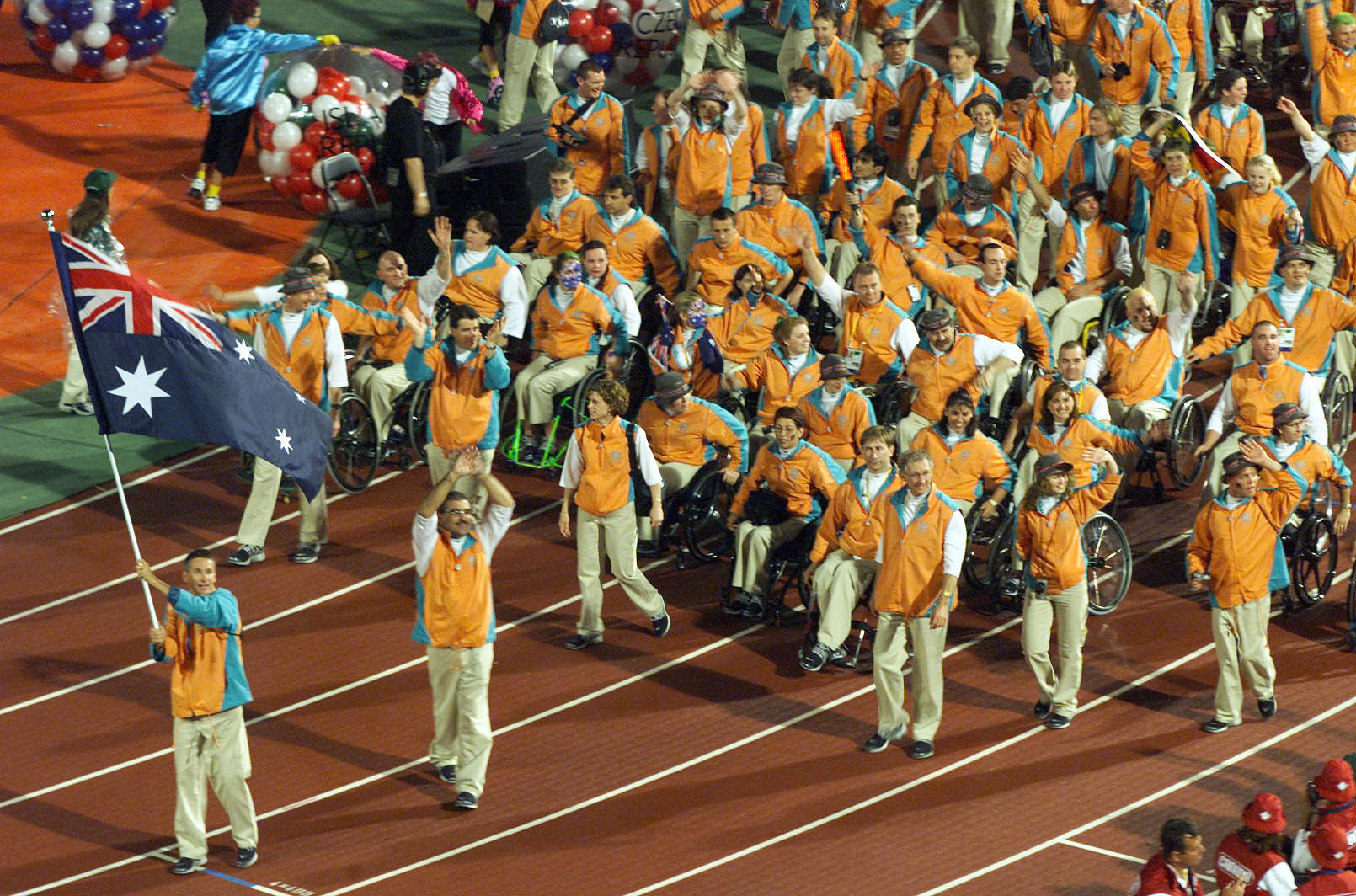 Australia achieved 63 gold medals at the Sydney 2000 Paralympics to top the medal table at their home Games ©Getty Images