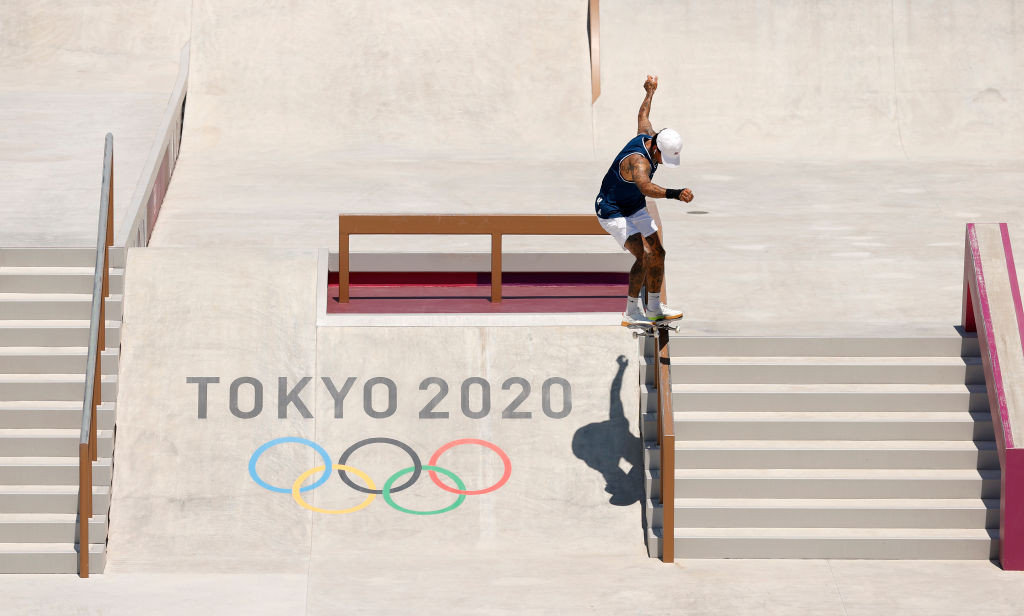 Huston and Horigome to contest first Olympic skateboard title in street showdown