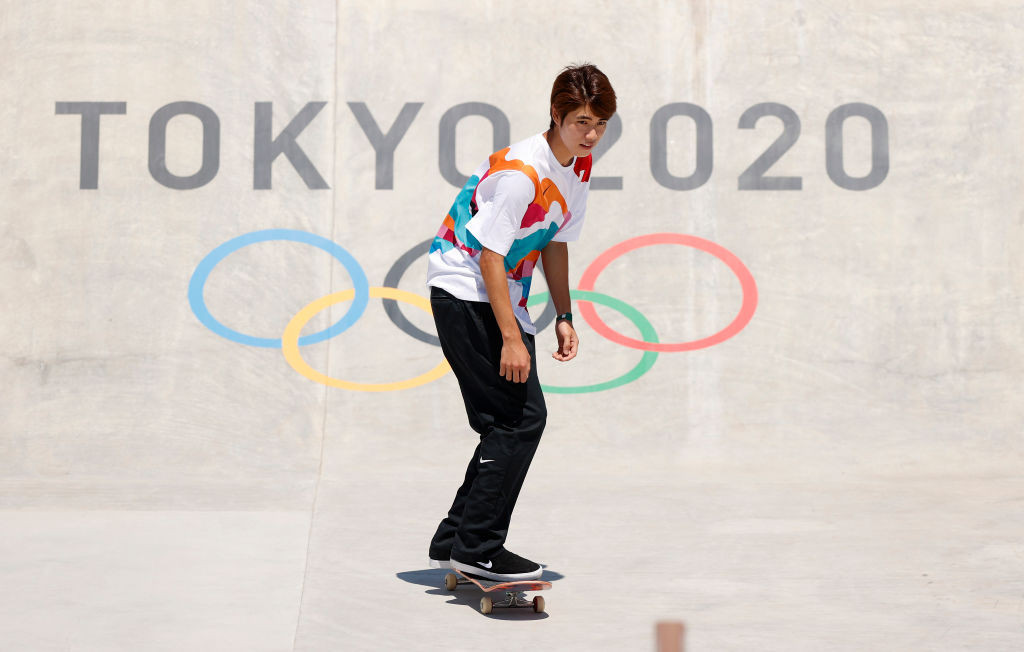 Japan have golden hopes for their newly established world street skateboarding champion Horigome Yuto, when the sport makes its Olympic debut in Tokyo tomorrow ©Getty Images