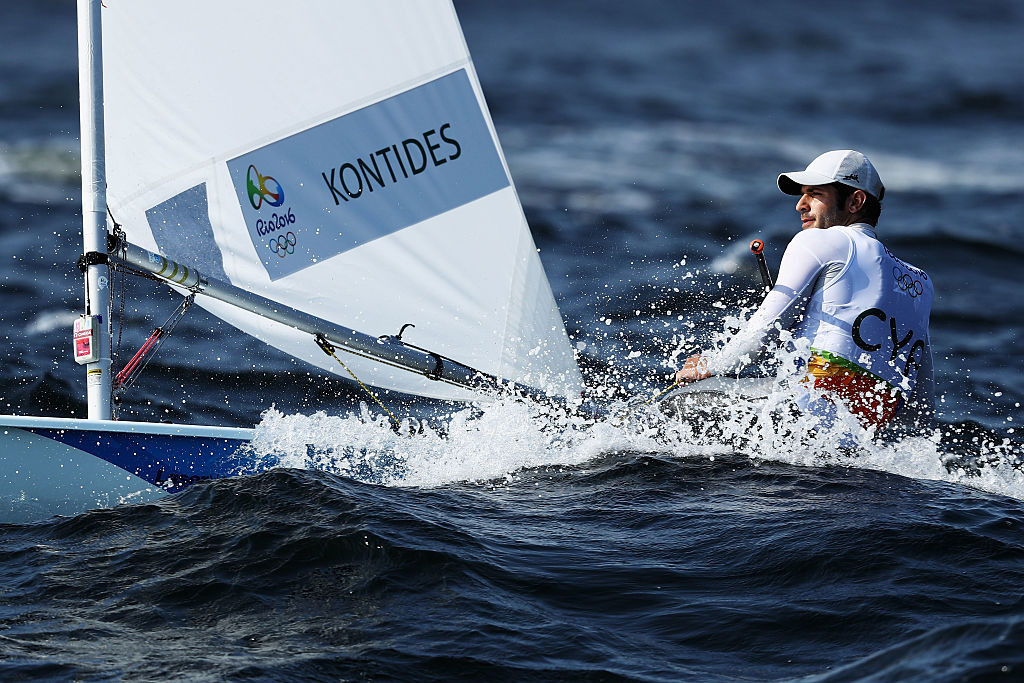 Pavlos Kontides of Cyprus wants to add Olympic gold to the silver he won at London 2012 ©Getty Images