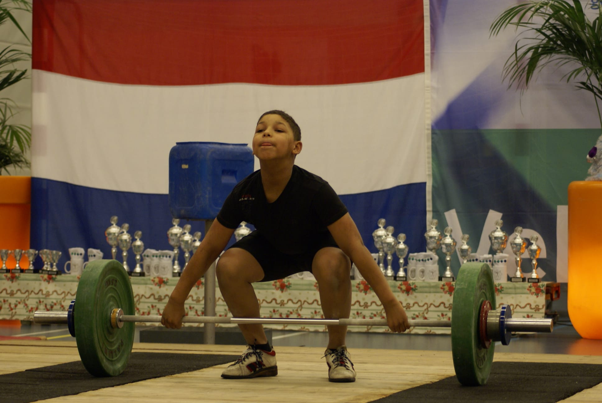 Enzo Kuworge is aiming to become the first Dutch weightlifter at an Olympics since Piet van de Kruk in 1968 ©Ilona Koster