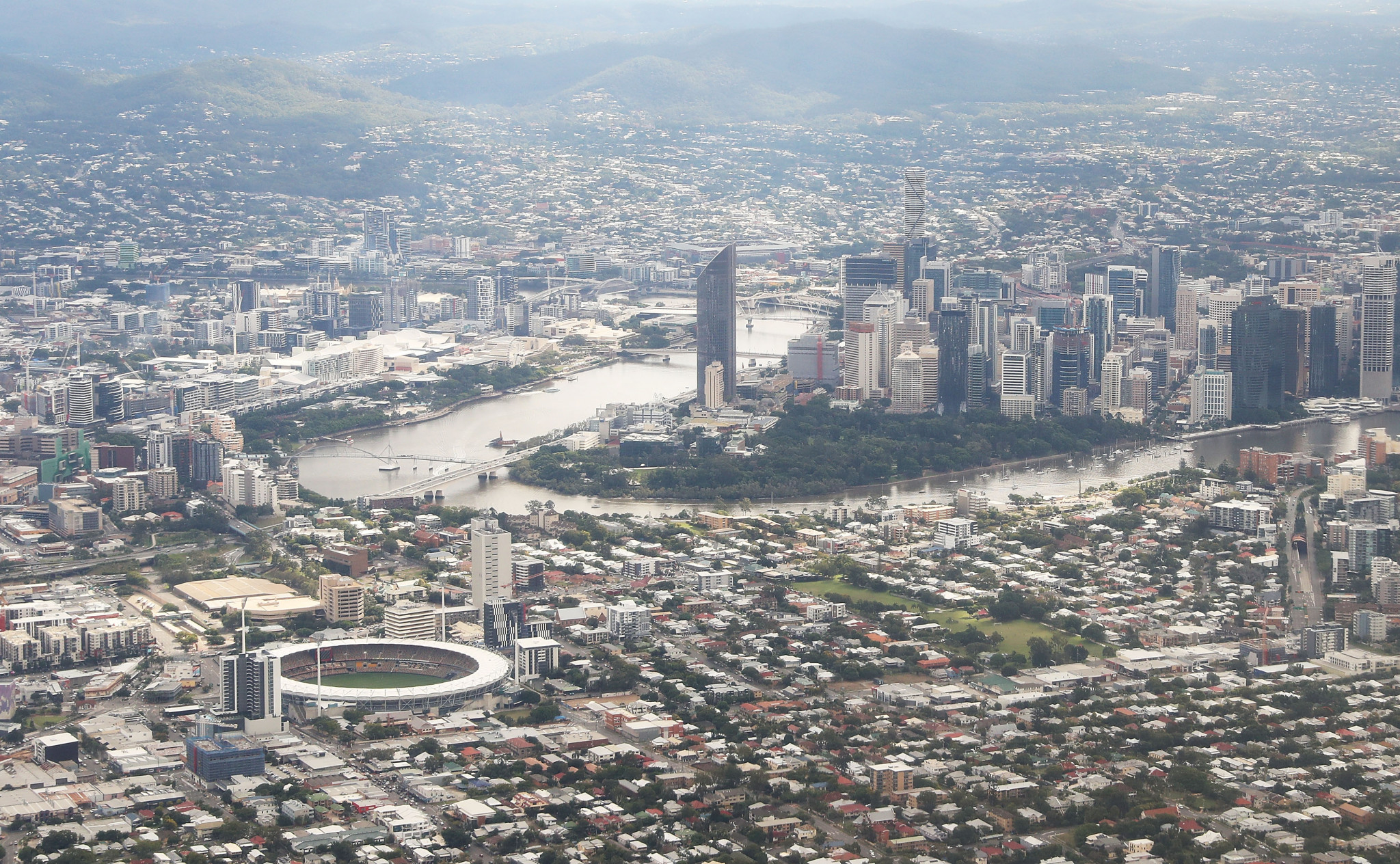 Brisbane is set to host the 2032 Olympics ©Getty Images