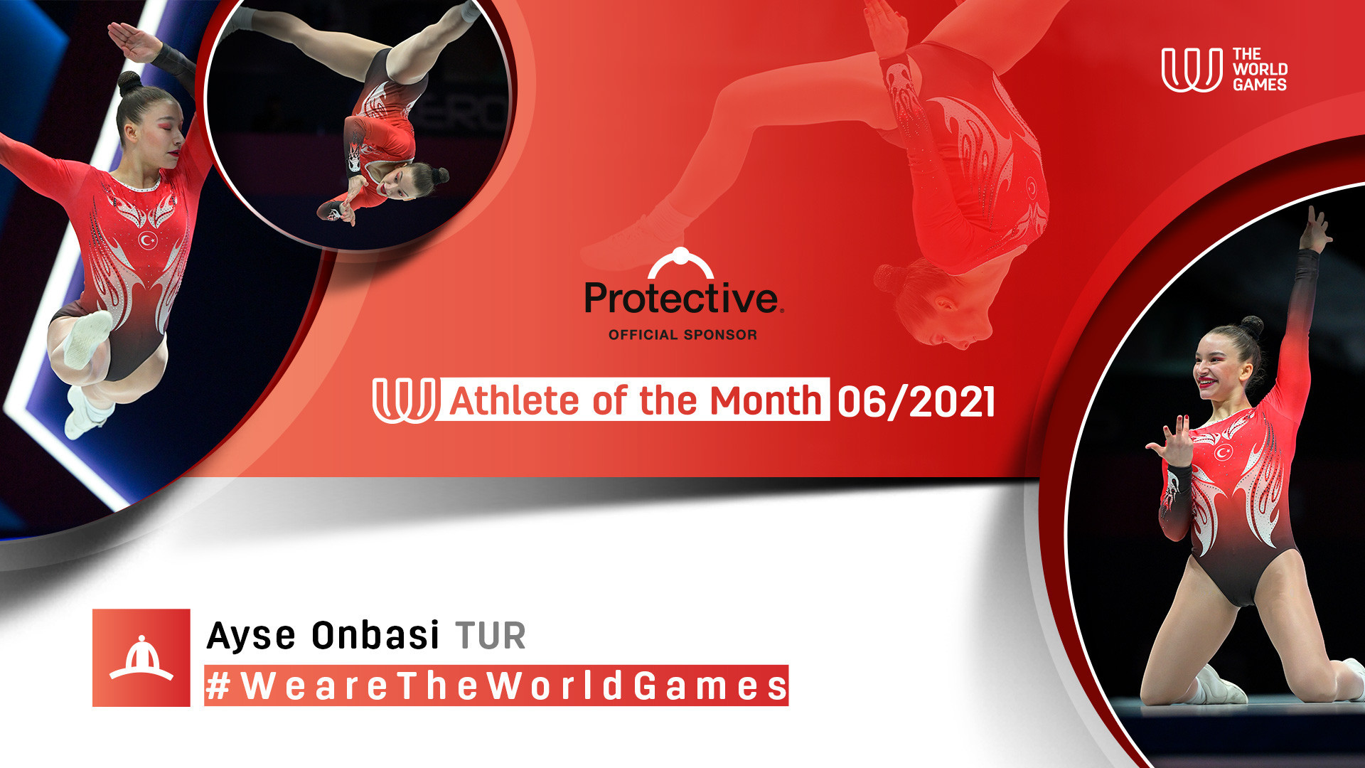 New aerobic gymnastics world champion Onbaşı named The World Games Athlete of the Month for June