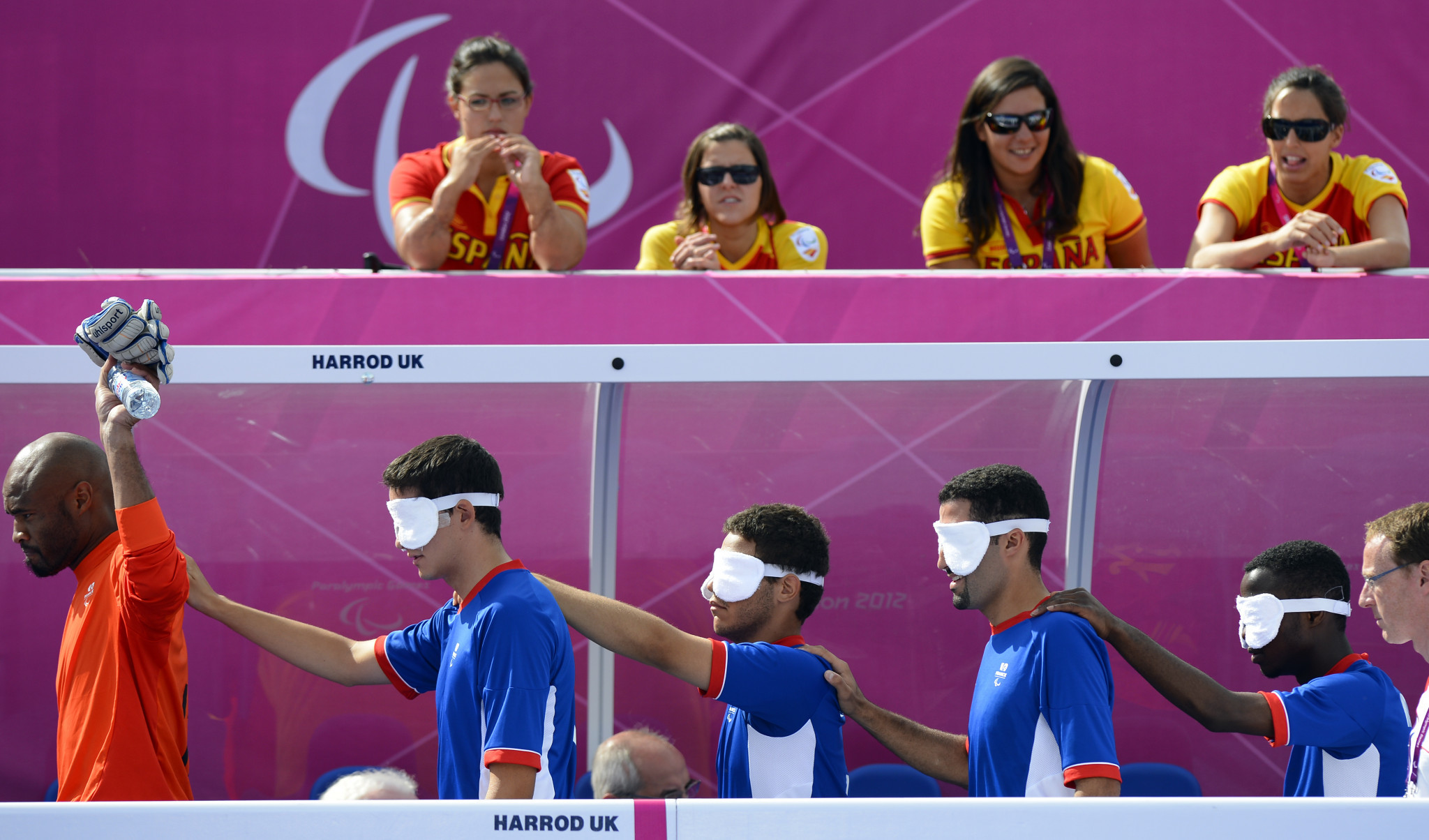 France targeting podium again in blind football on Paralympics return