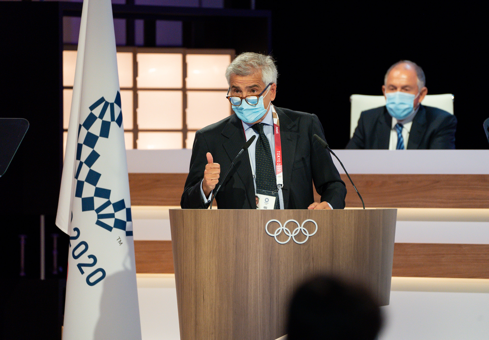 Samaranch says successful Winter Olympics needed at Beijing 2022 and wants international community present