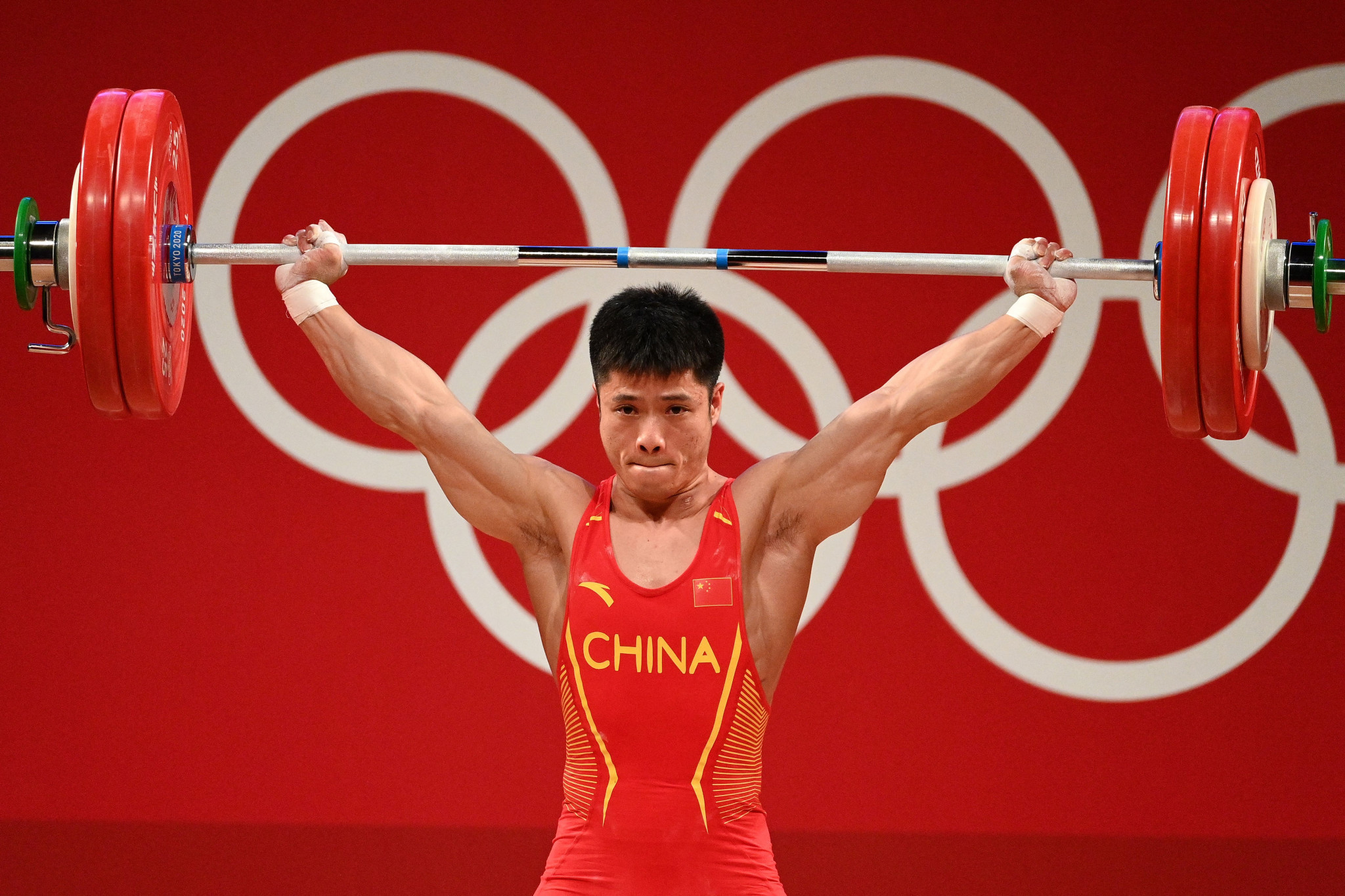 Li Fabin made it two from two weightlifting golds for China at the Tokyo 2020 Olympic Games ©Getty Images