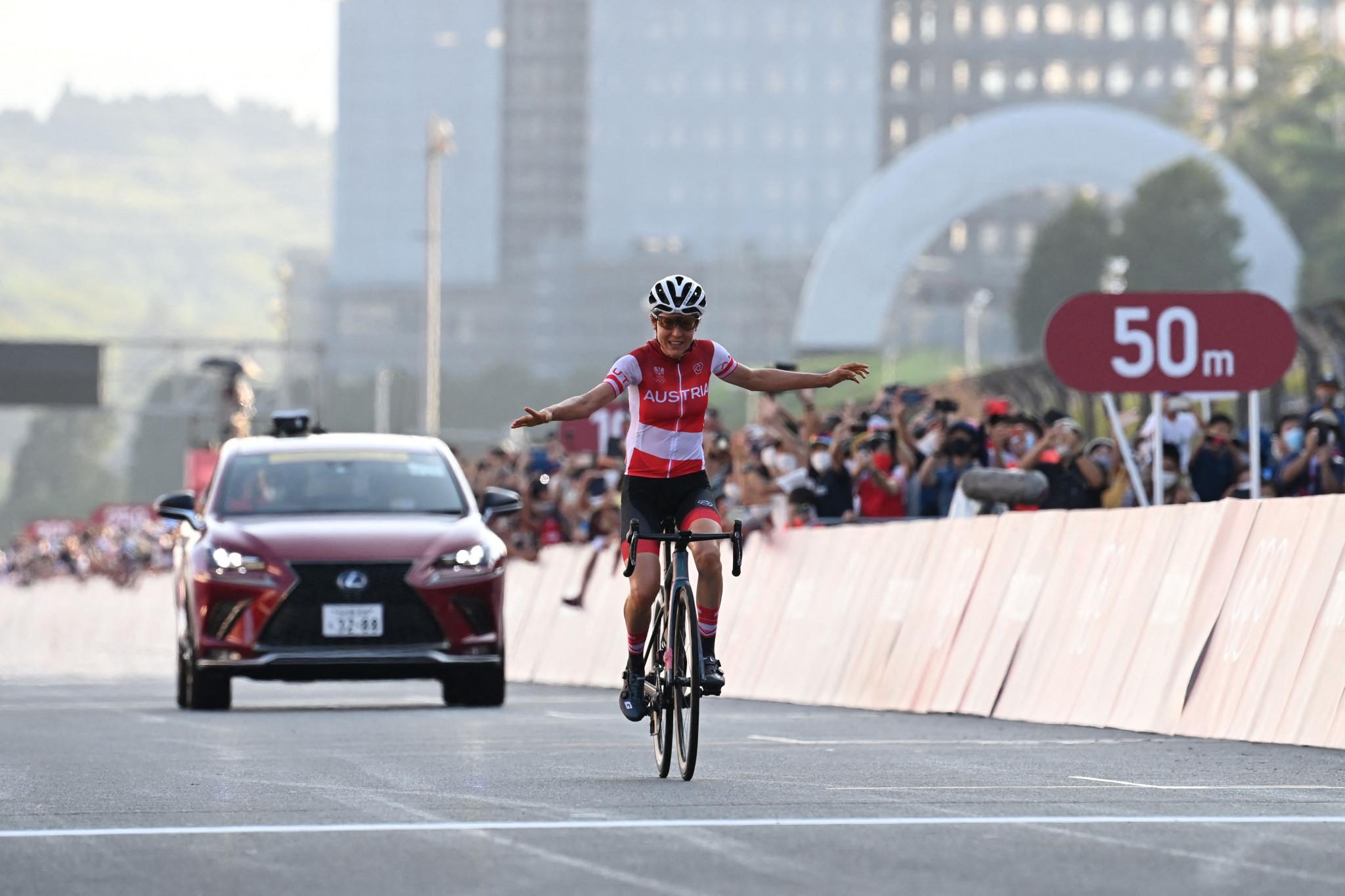 Kiesenhofer claims shock women's road race gold at Tokyo 2020 after breakaway