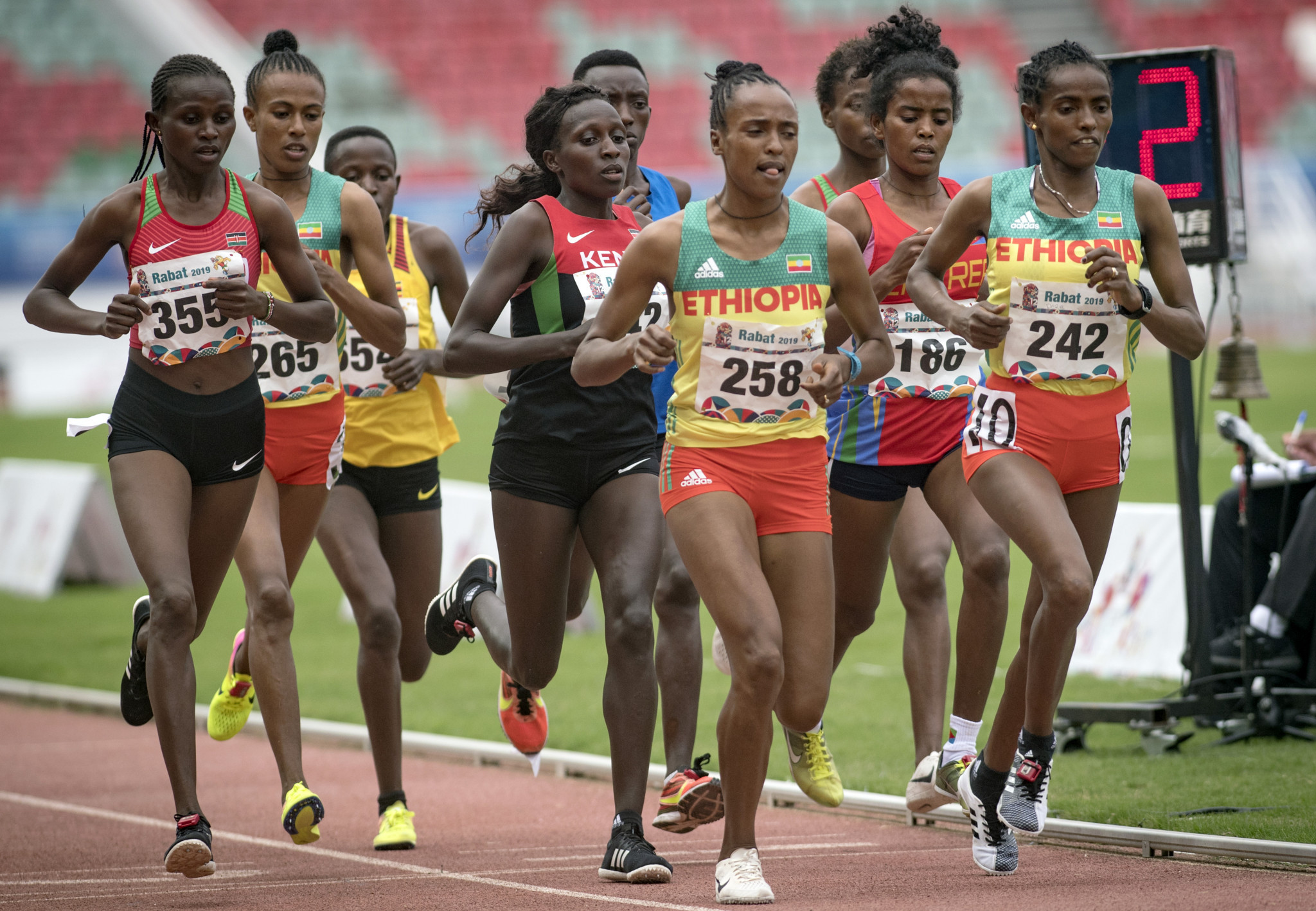 Moroccan capital Rabat hosted the last edition of the African Games in 2019 ©Getty Images