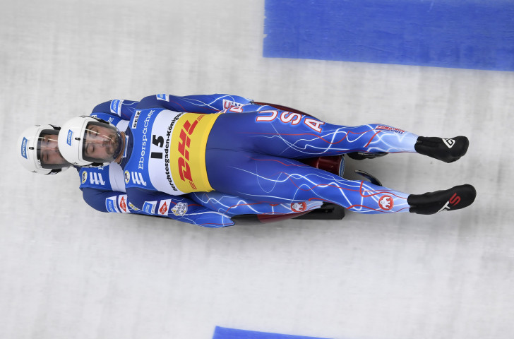 USA Luge adds Fibre Glast as official supplier through to Beijing 2022