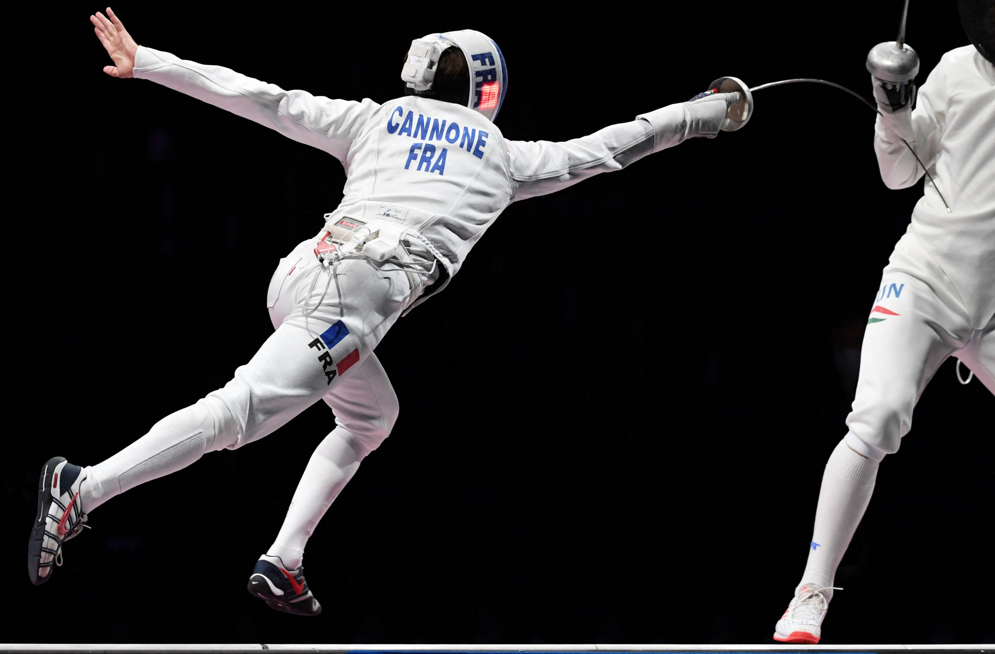 France's Romain Cannone was a surprise winner of the men's individual epee event ©Getty Images
