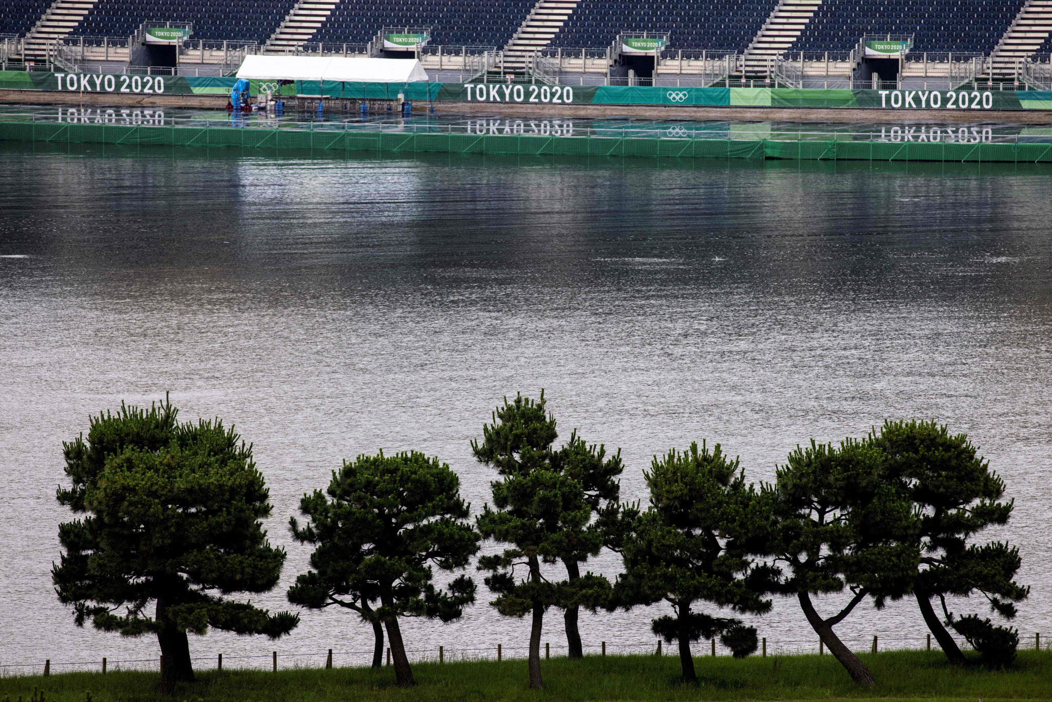 Odaiba Marine Park is the venue for marathon swimming at Tokyo 2020 ©Getty Images