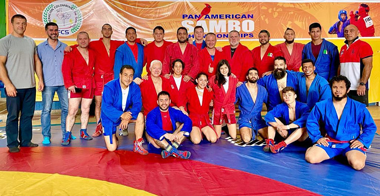 FIAS holds international seminar for sambo coaches in Colombia
