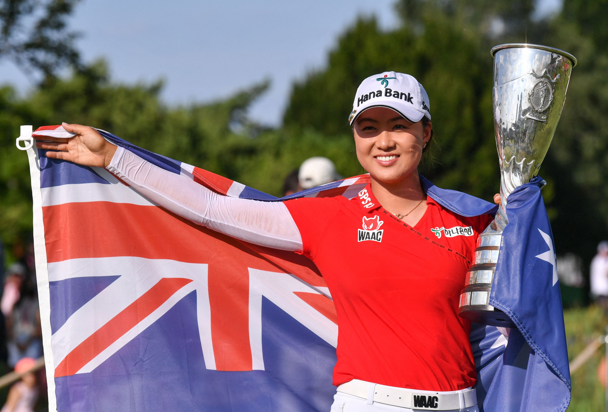 Australia's Lee comes from seven shots back to win first major at Evian Championship