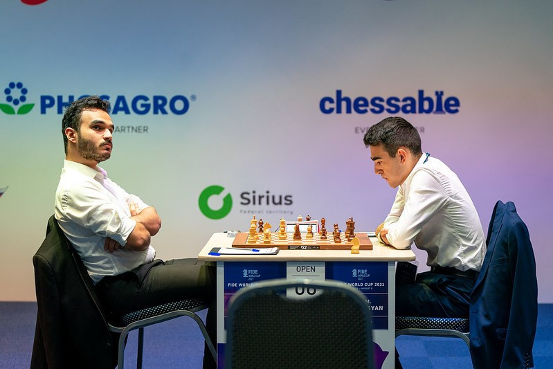 Martirosyan sole winner from opening fifth-round games at Chess World Cup
