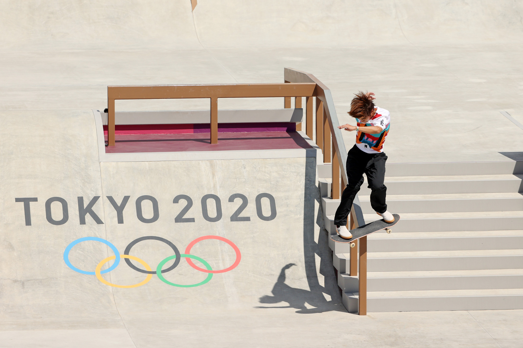 Local hero Yuto Horigome became the first Olympic skateboarding champion ©Getty Images